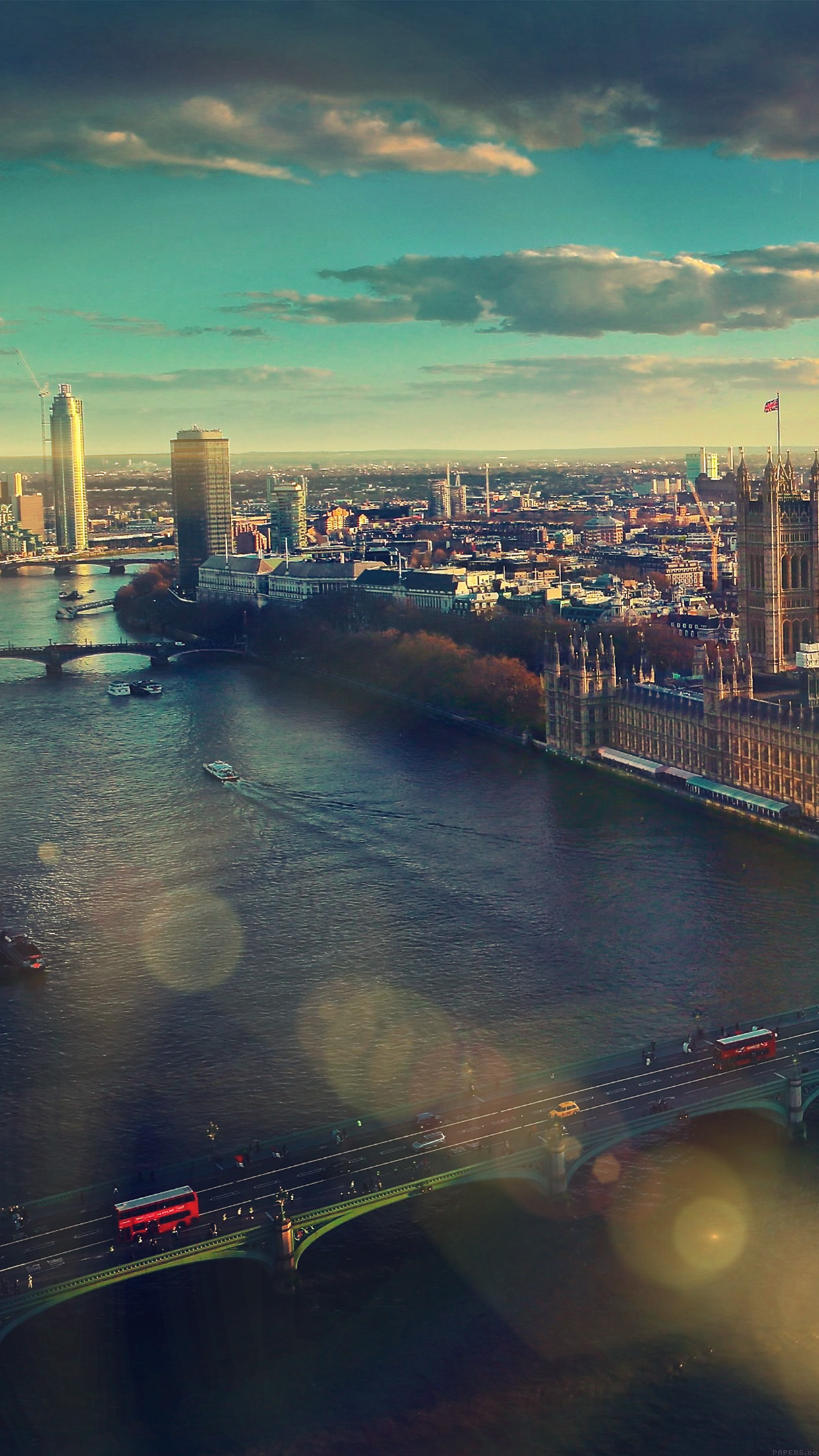 London The City 3Wallpapers iPhone Parallax1 Les 3Wallpapers iPhone du jour (21/08/2015)