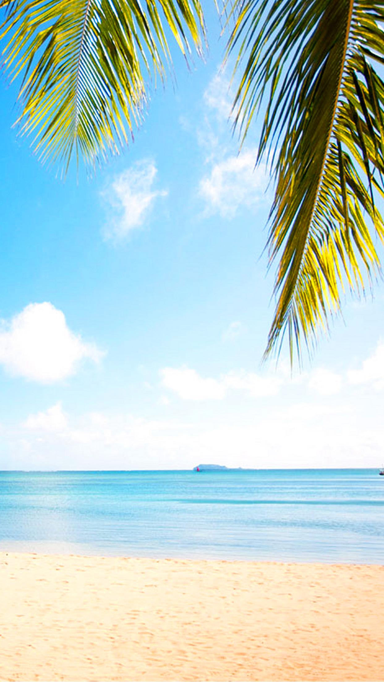 Mauritius beach paradise 3Wallpapers iPhone Parallax Mauritius beach paradise