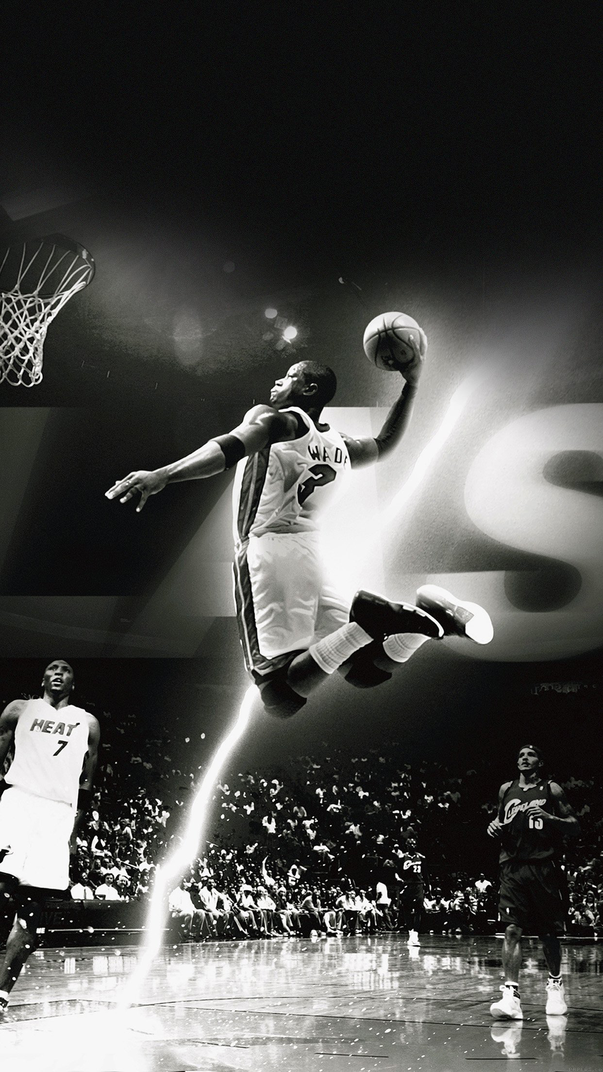 Nba Dunk Wallpaper For Iphone X 8 7 6 Free Download On 3wallpapers