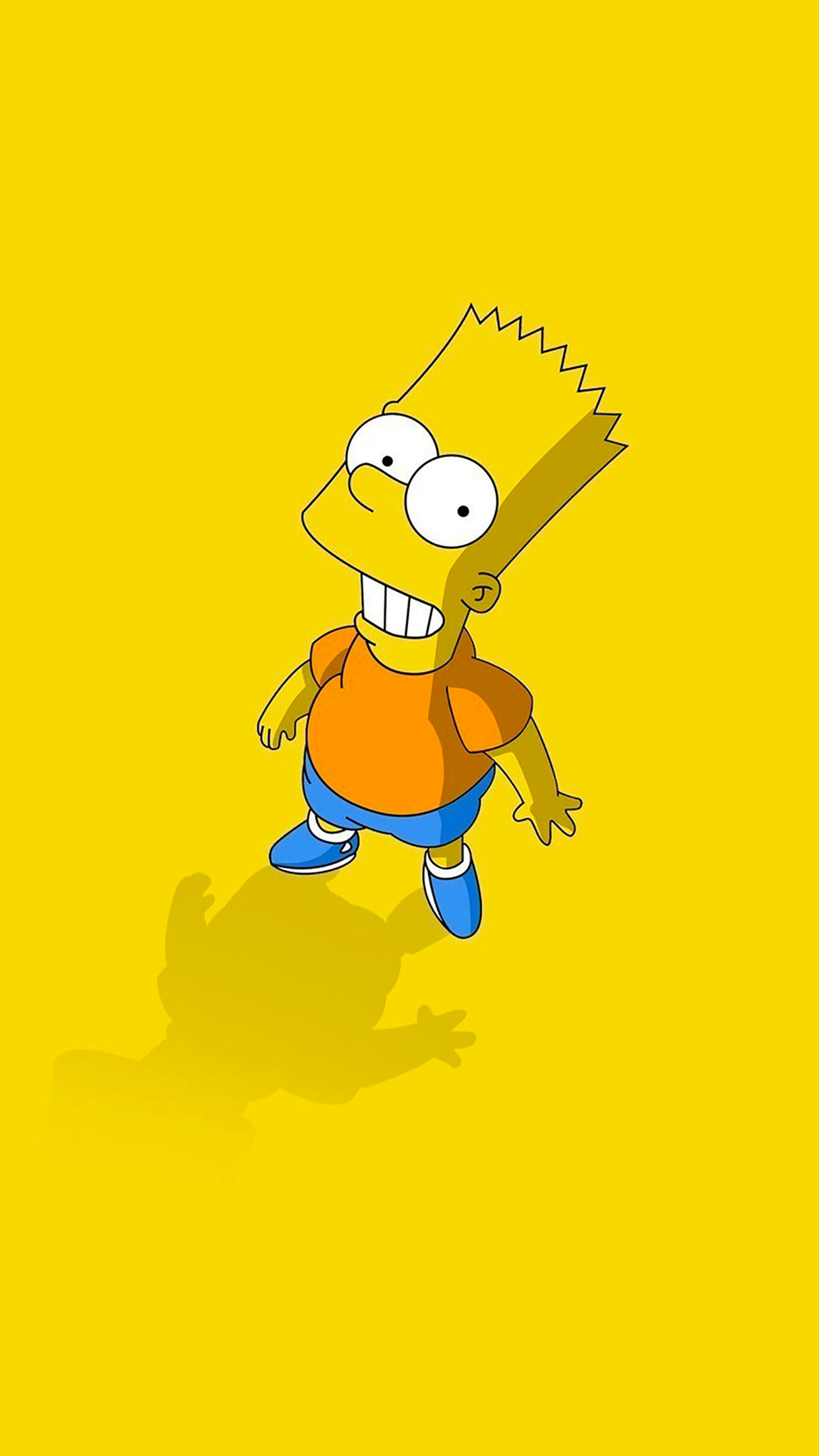Simpsons Bart Wallpaper for iPhone X, 8, 7, 6 , Free