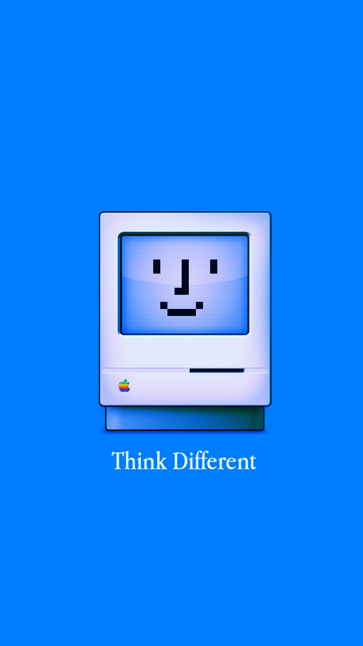 Think Different Wallpaper For Iphone X 8 7 6 Free