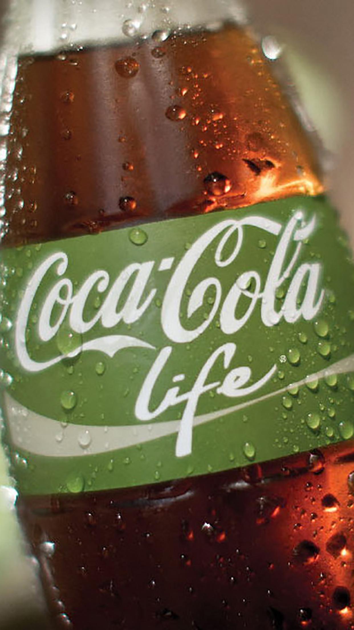 Coca Cola life 3Wallpapers iPhone Parallax Coca Cola life
