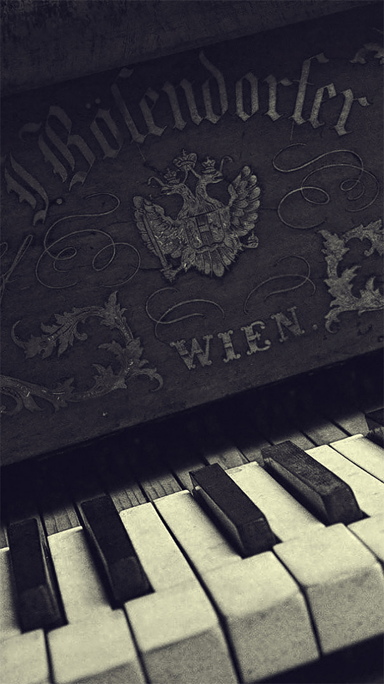 Music instruments piano 3Wallpapers iPhone Parallax Music instruments piano