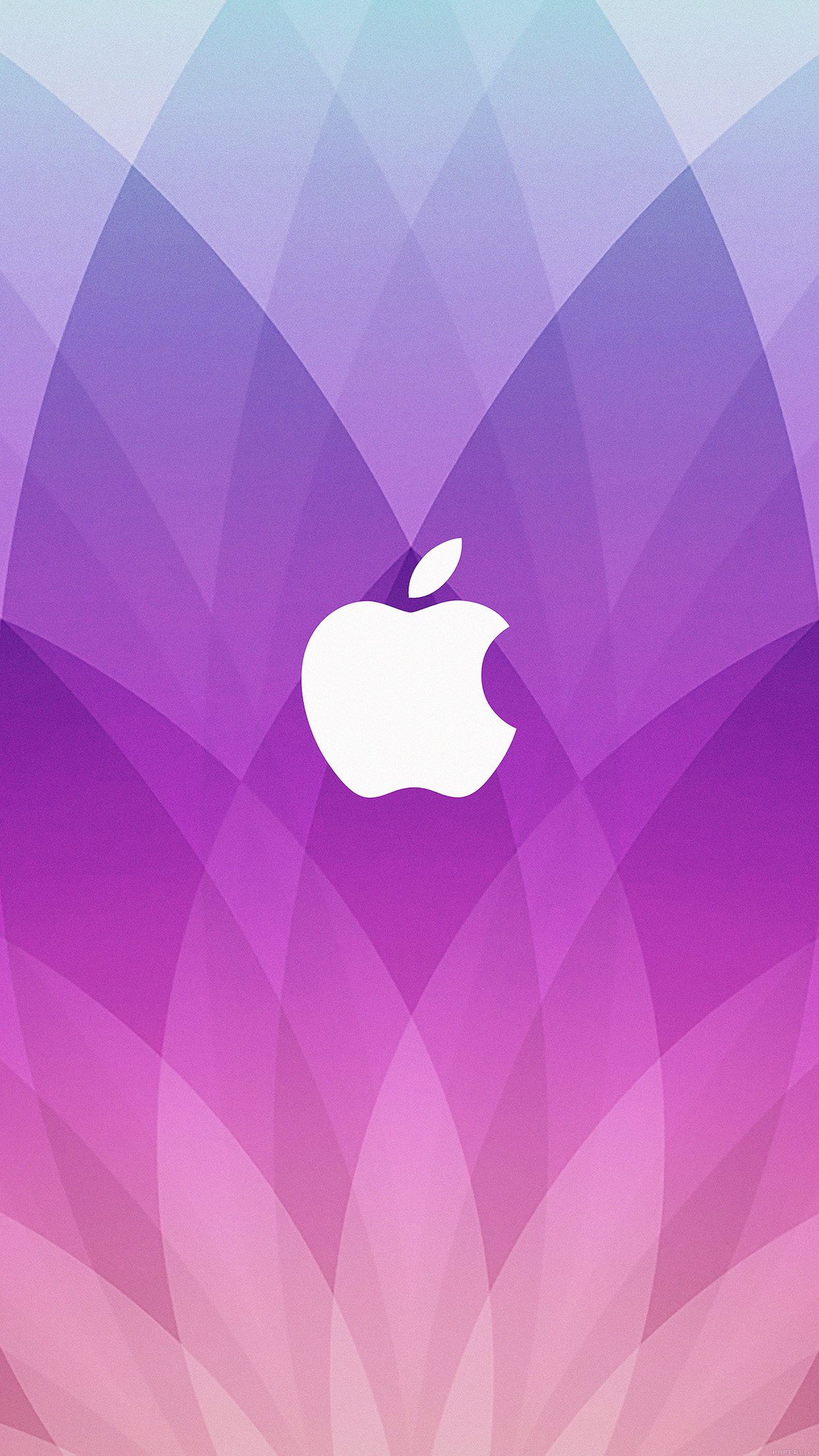Apple Logo Color Wallpaper For Iphone X 8 7 6 Free Download On