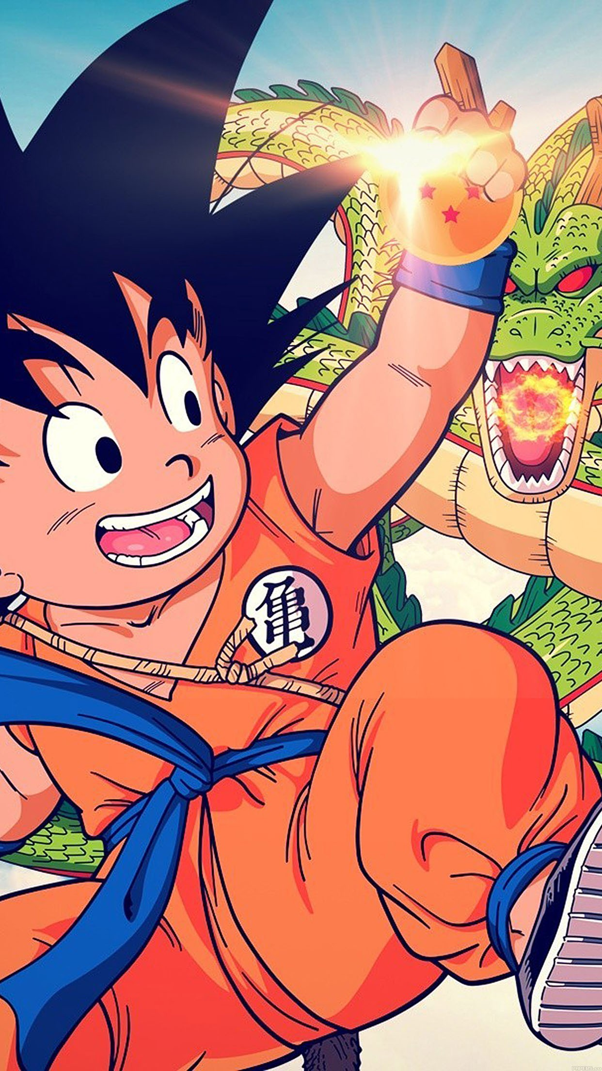 dragon ball goku shenron wallpaper for iphone x 8 7 6 free download on 3wallpapers. Black Bedroom Furniture Sets. Home Design Ideas