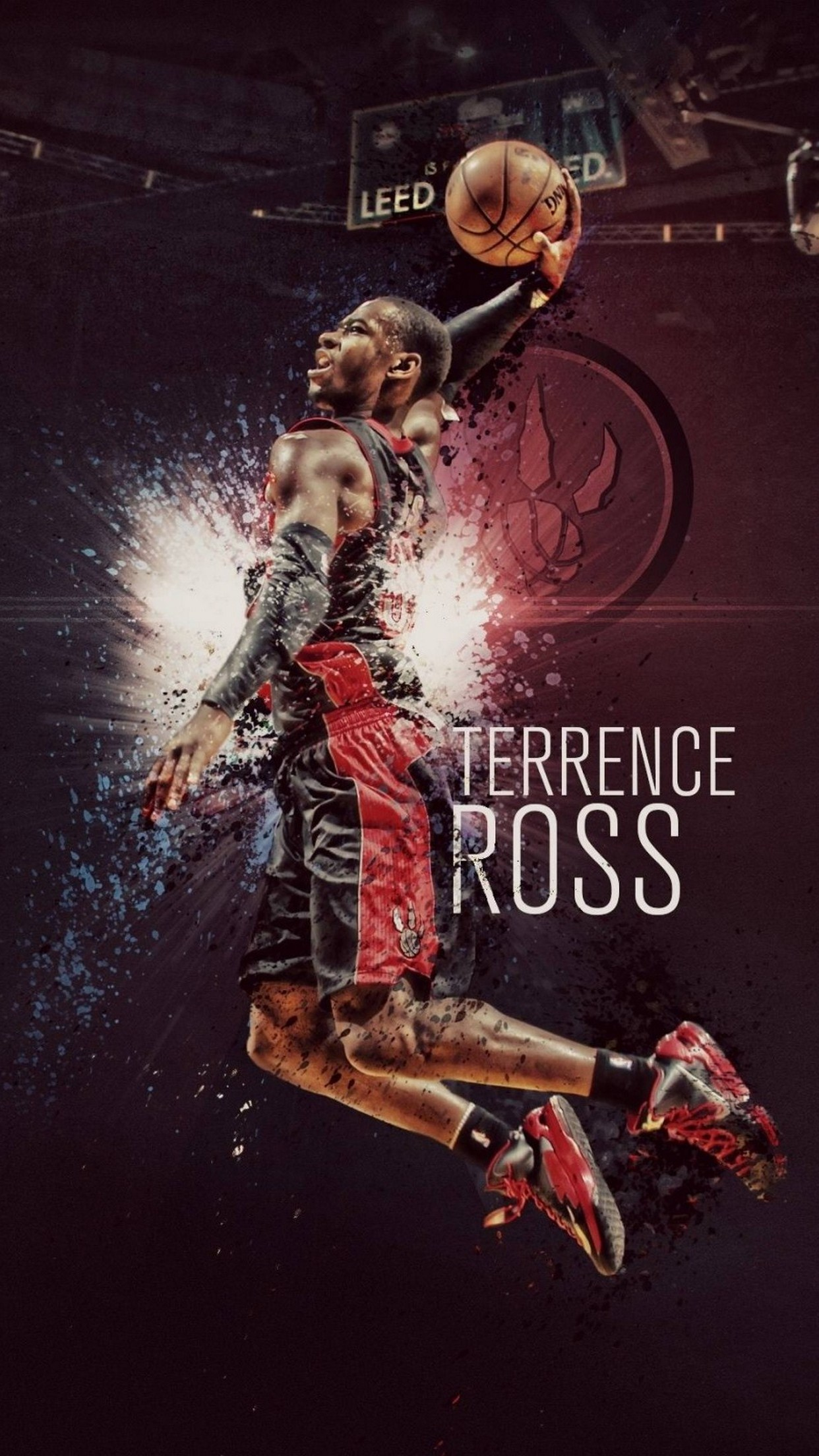 basketball terrence ross 3Wallpapers iPhone Parallax Basketball Terrence Ross