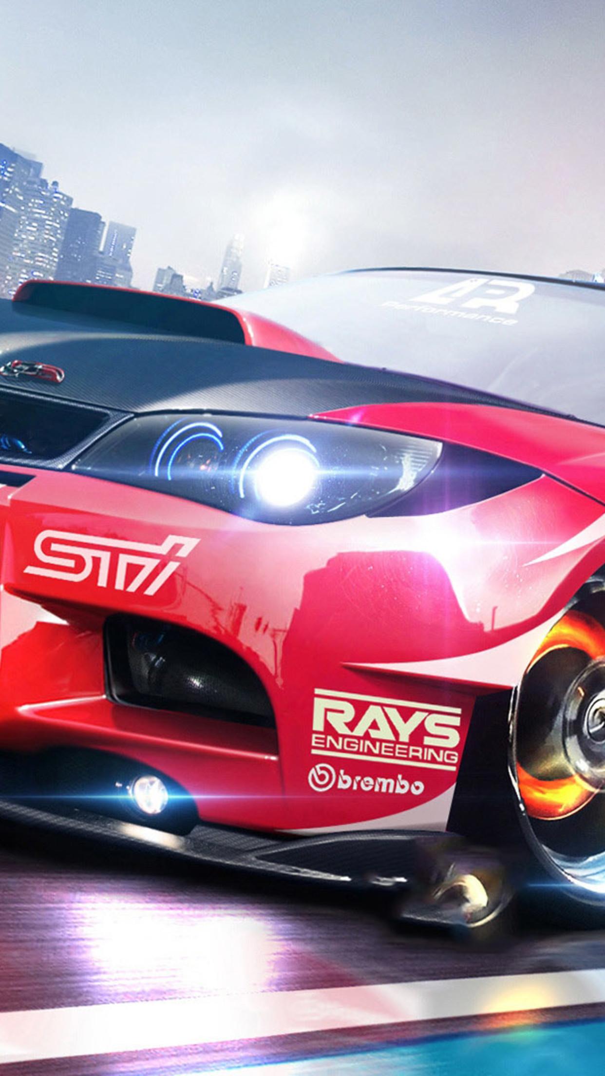 car subaru 3Wallpapers iPhone Parallax Car Subaru