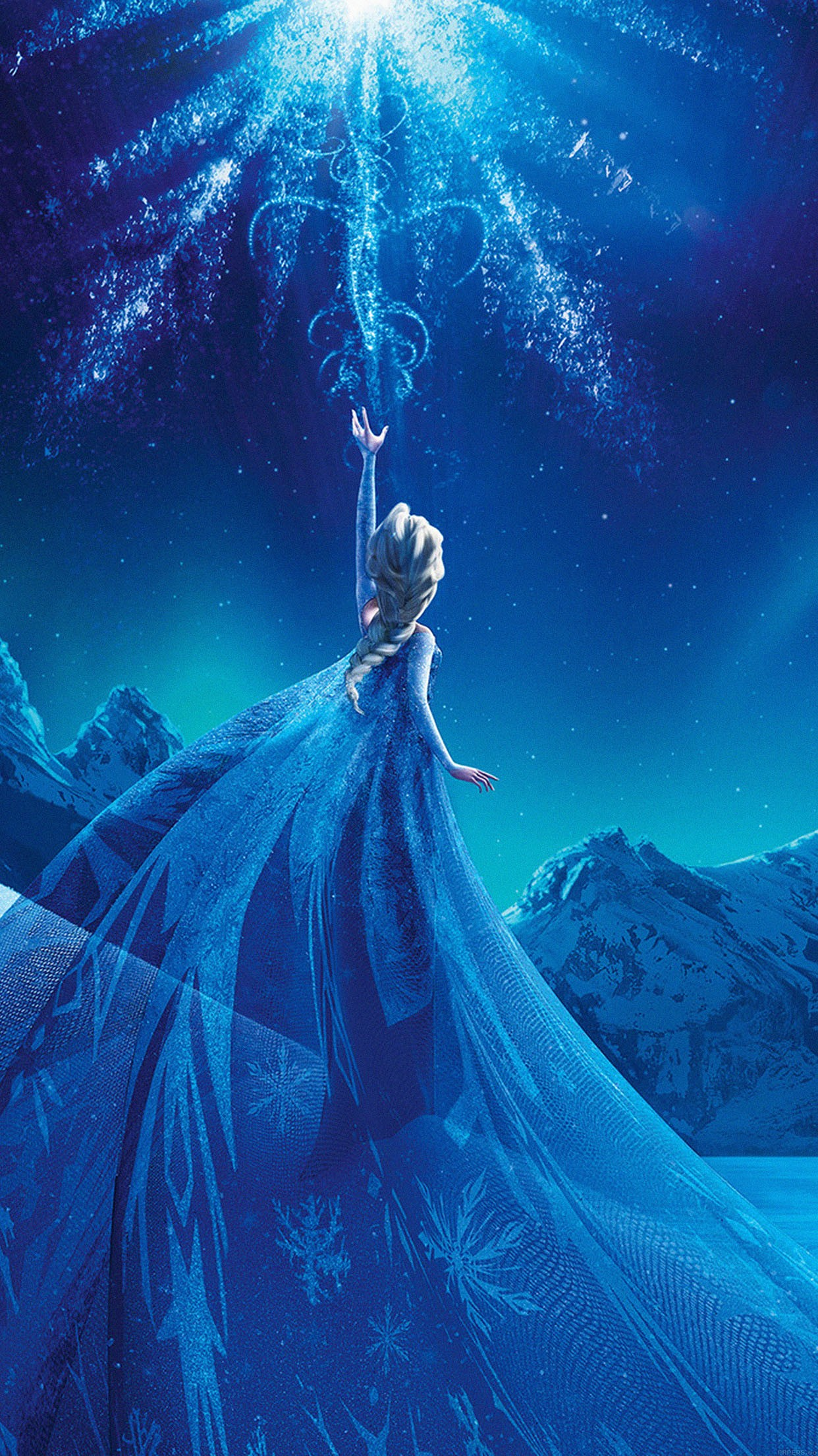disney reine des neiges 3Wallpapers iPhone Parallax Les 3 Wallpapers ...