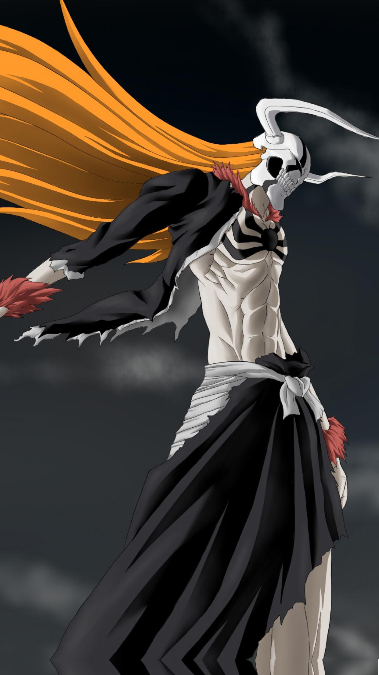 Bleach Ichigo Wallpaper for iPhone X, 8, 7, 6 - Free ...