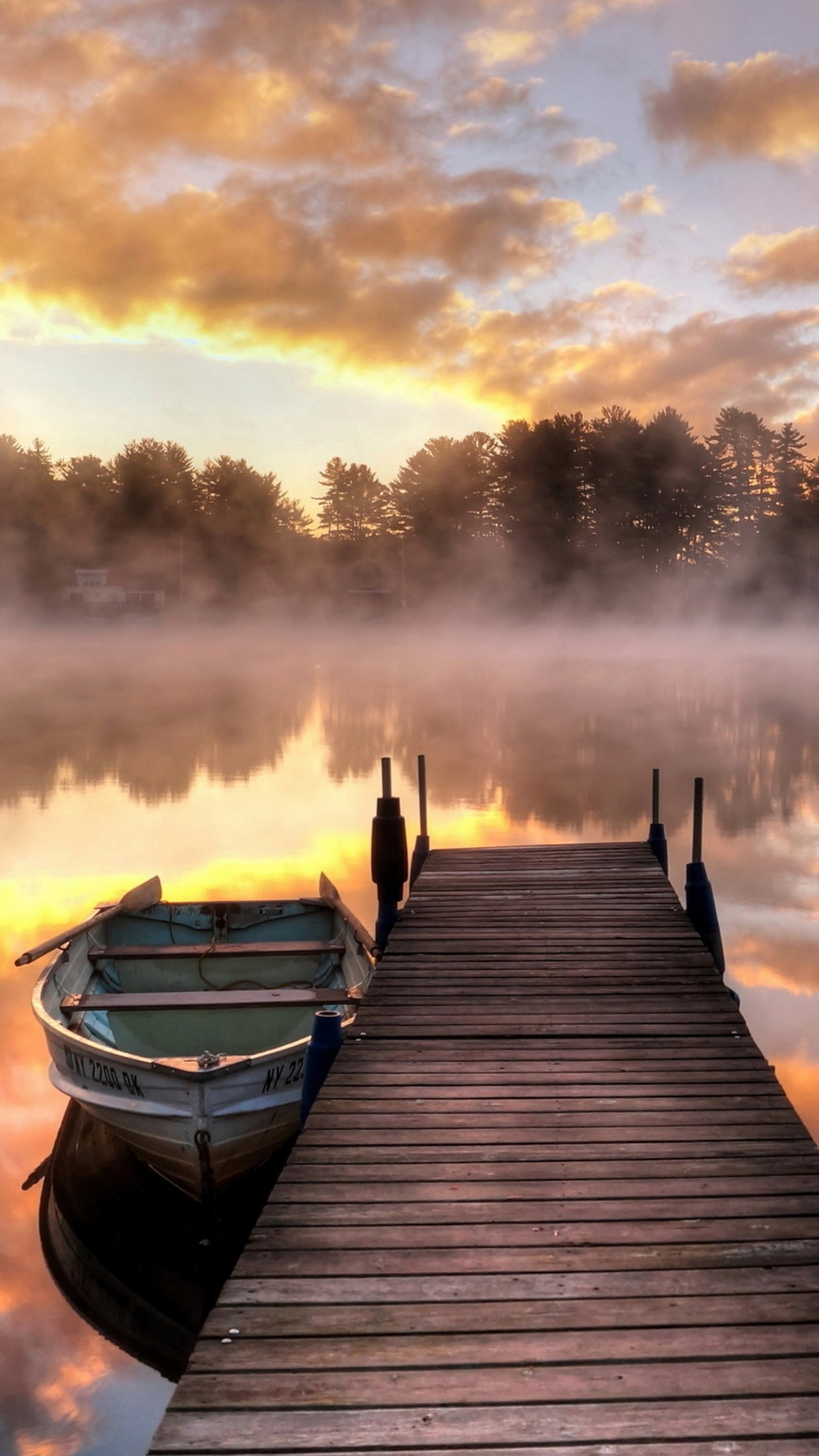 Boat Bridge Wallpaper For Iphone X 8 7 6 Free Download
