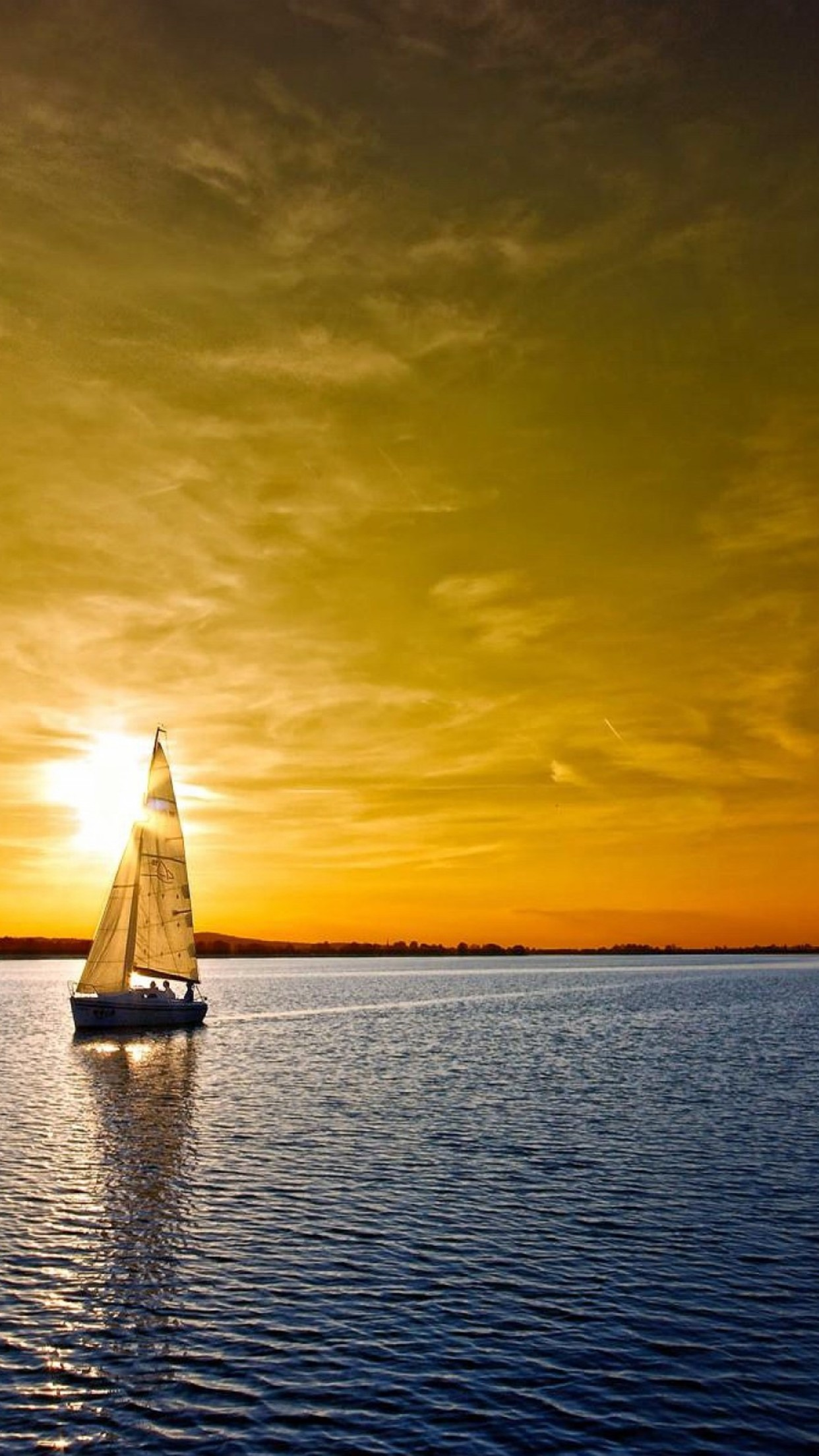 Boat Sail Wallpaper For Iphone X 8 7 6 Free Download On