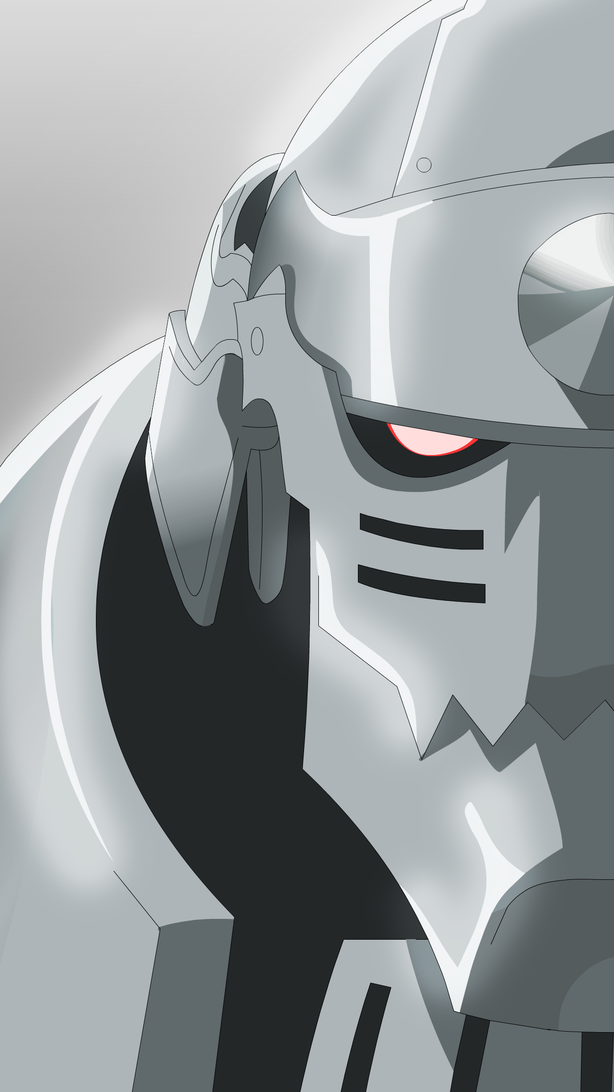 Full Metal Alchemist Alphonse Wallpaper For Iphone X 8 7 6 Free