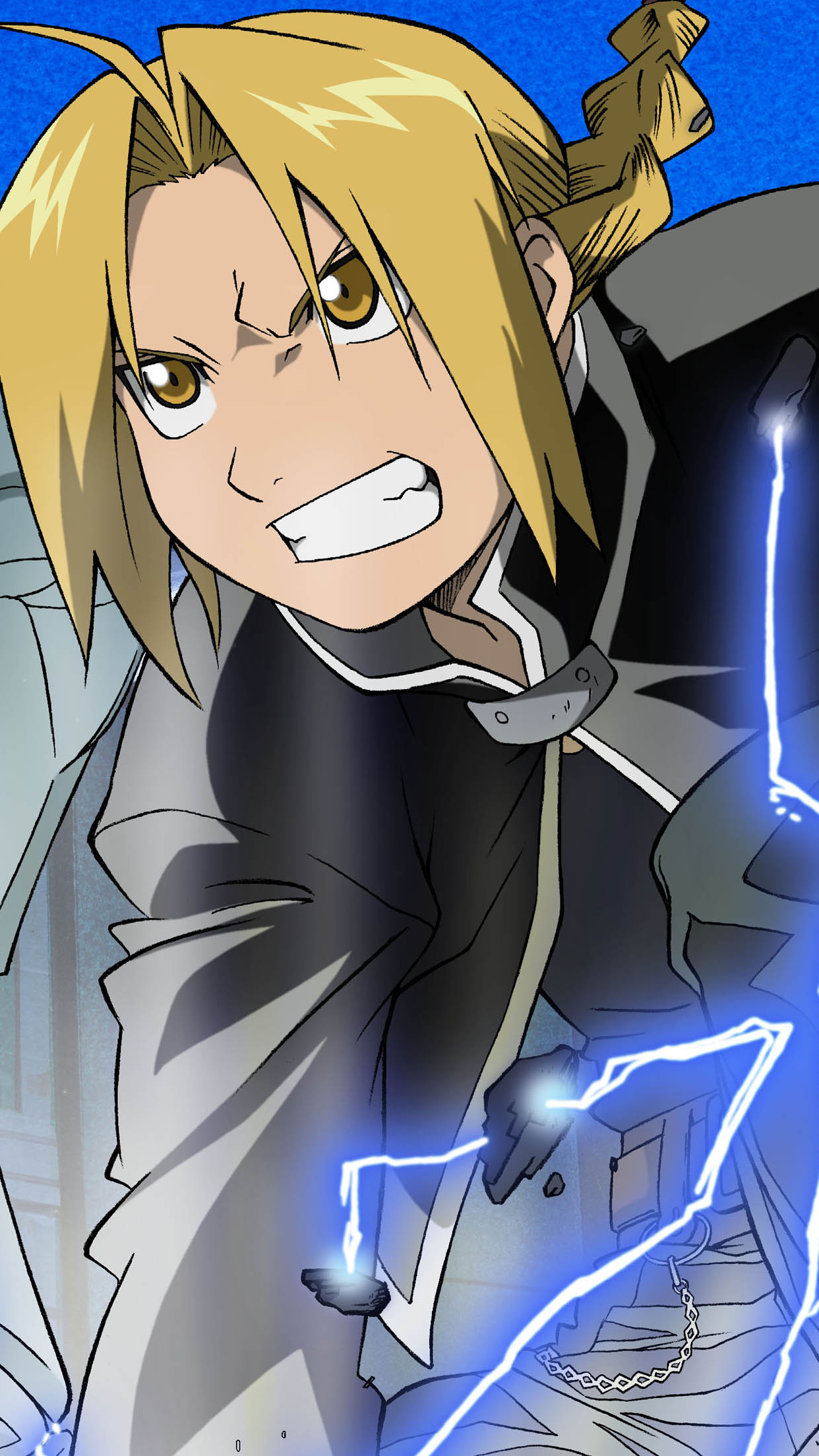 Full Metal Alchemist Edward Wallpaper For Iphone X 8 7 6 Free