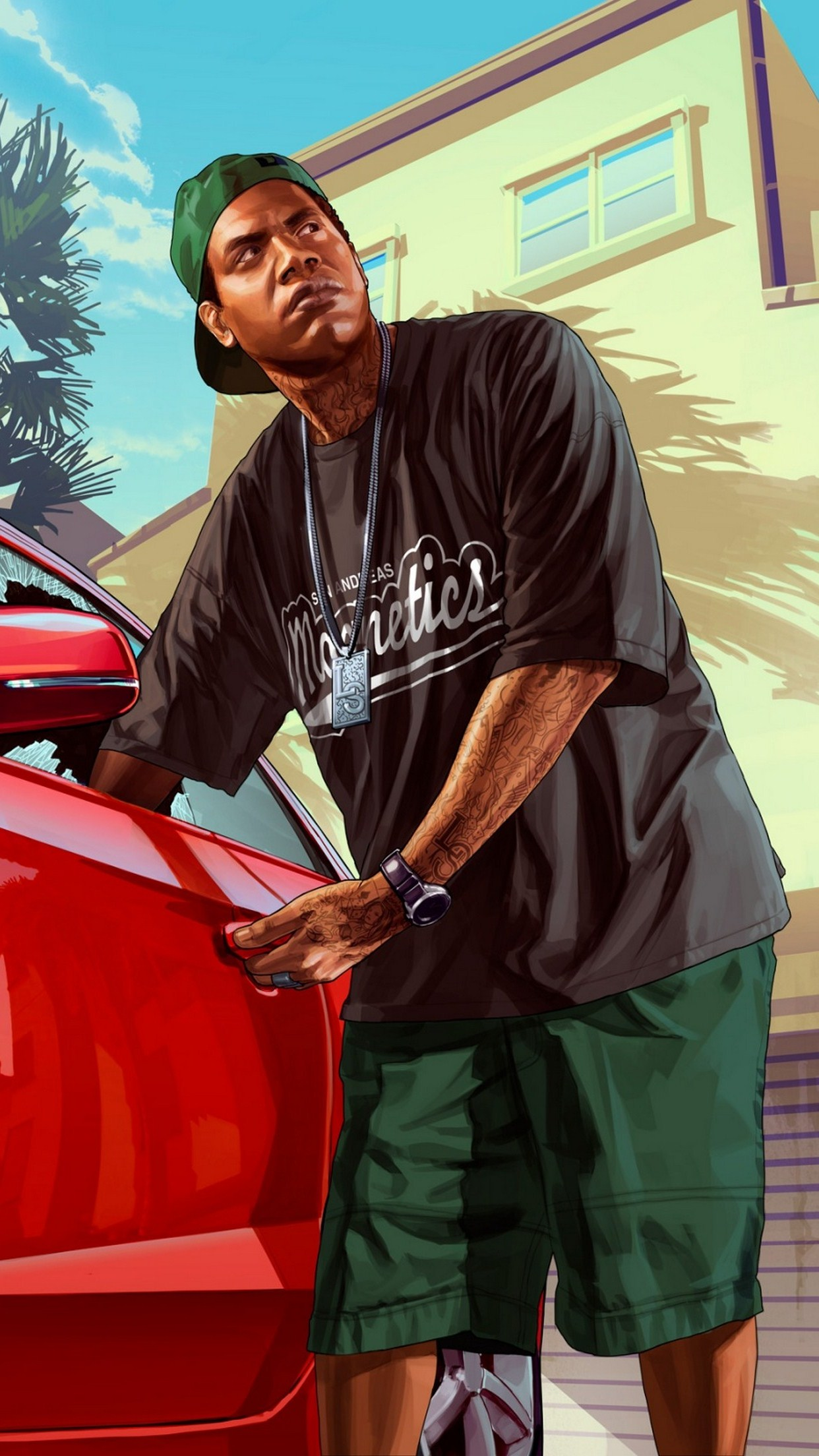 gtav man 3Wallpapers iPhone Parallax.jpg GTA V Man