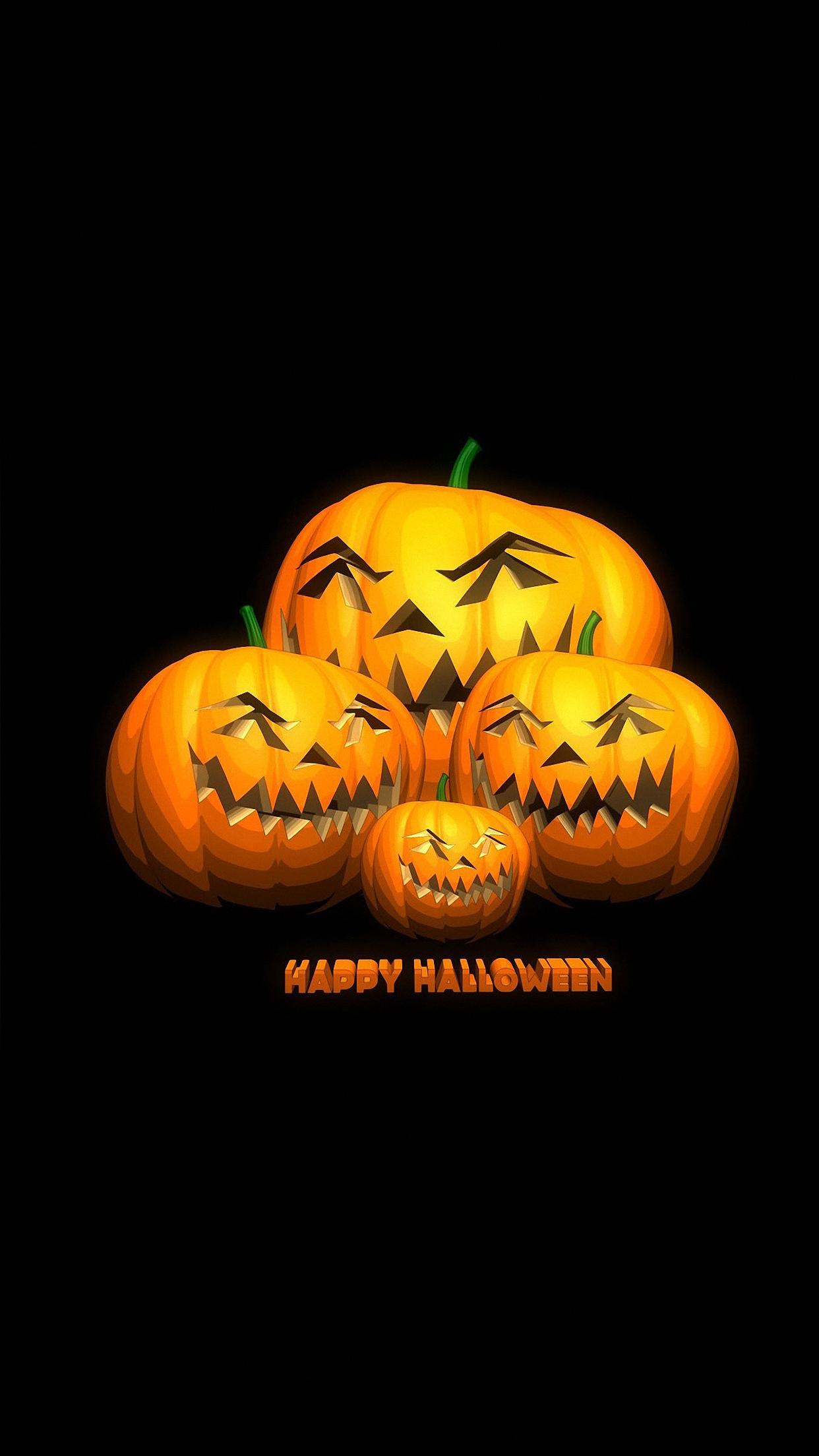 Halloween Pumpkin Wallpaper Iphone.Halloween Pumpkin 2 Wallpaper For Iphone X 8 7 6 Free Download