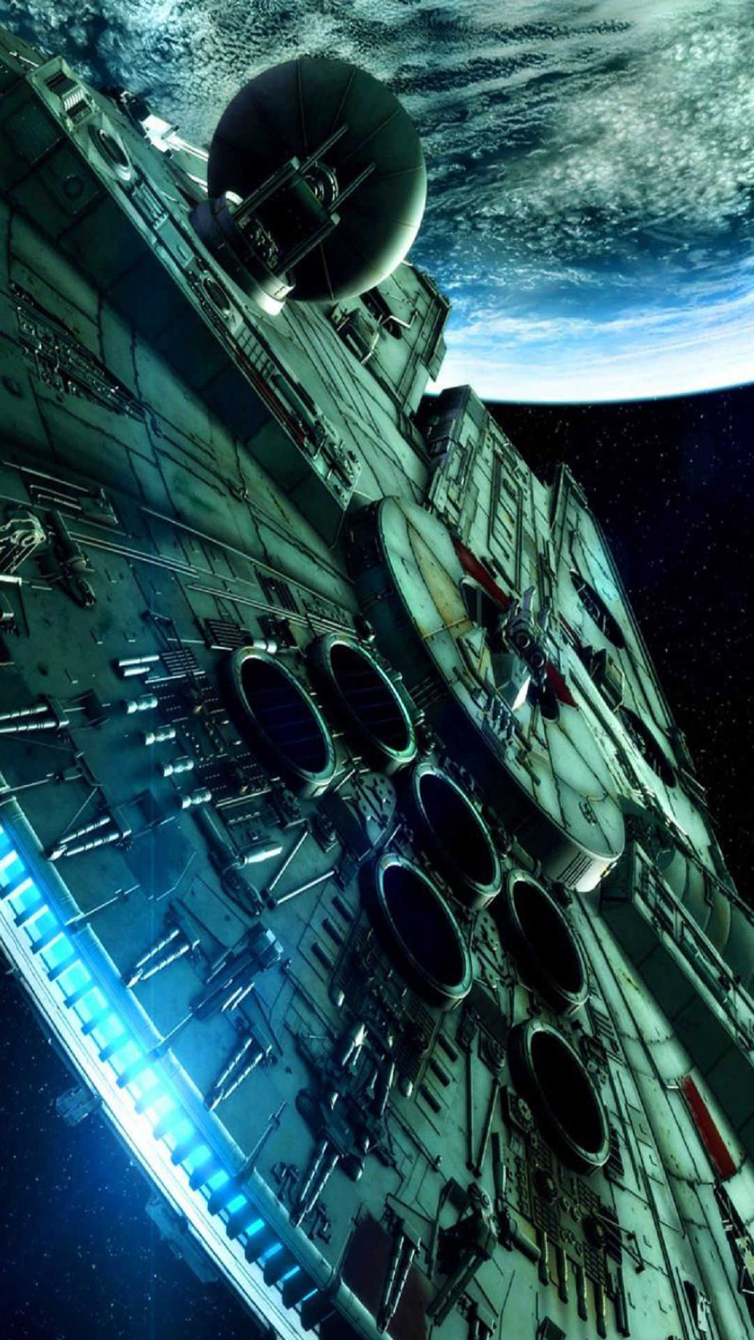 wallpaper hd iphone x, 8, 7, 6 - star wars spaceship - free download