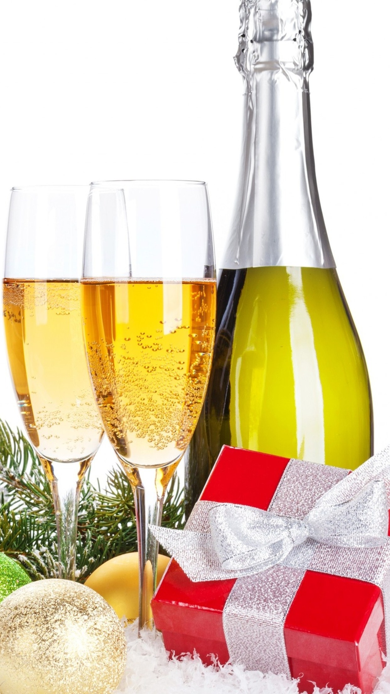 champagne 2 3Wallpapers iPhone Parallax Champagne 2