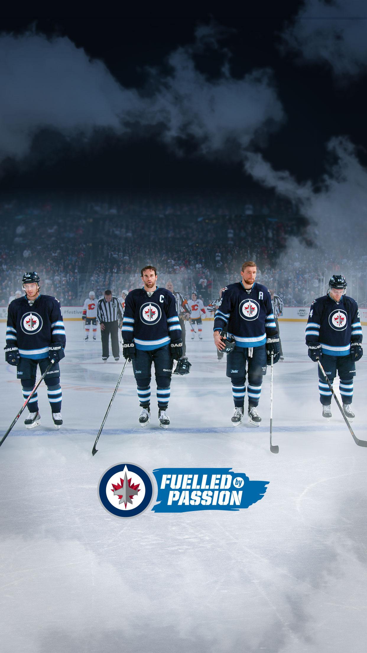 hockey team 3Wallpapers iPhone Parallax Hockey Team