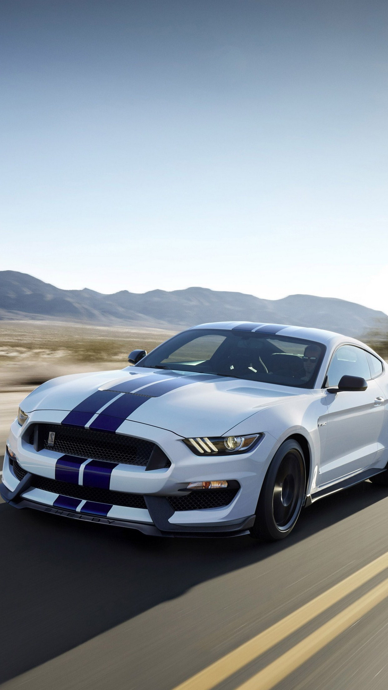 mustang shelby 3Wallpapers iPhone Parallax Mustang Shelby