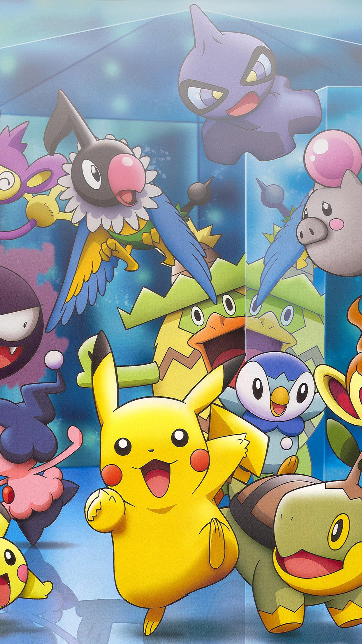 pokemon together 3Wallpapers iPhone Parallax. Pokemon Together