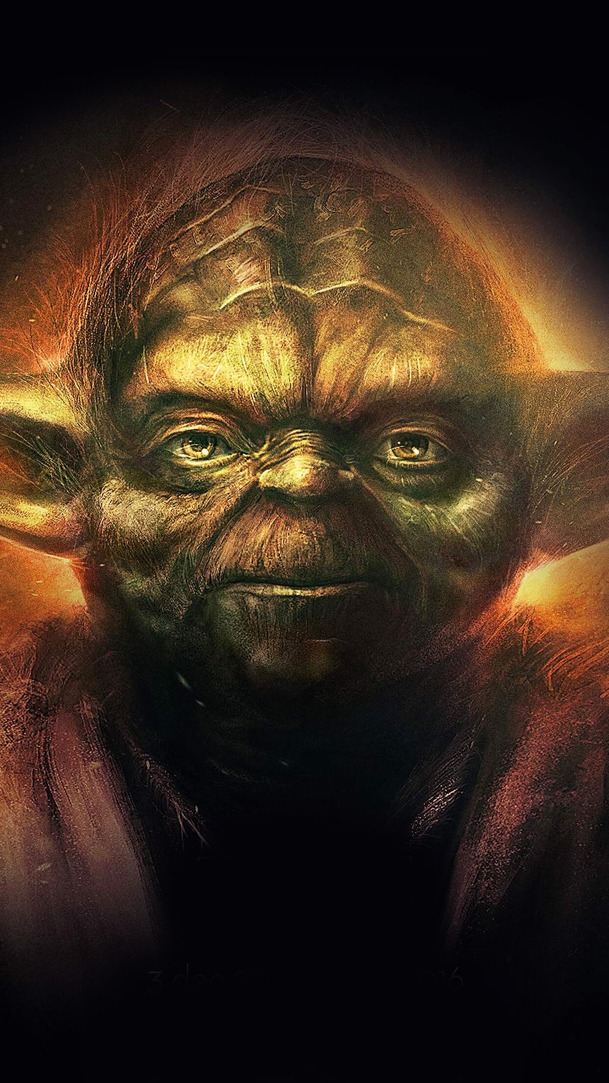 Iphone wallpaper yoda - Star Wars Yoda 3wallpapers Iphone Parallax
