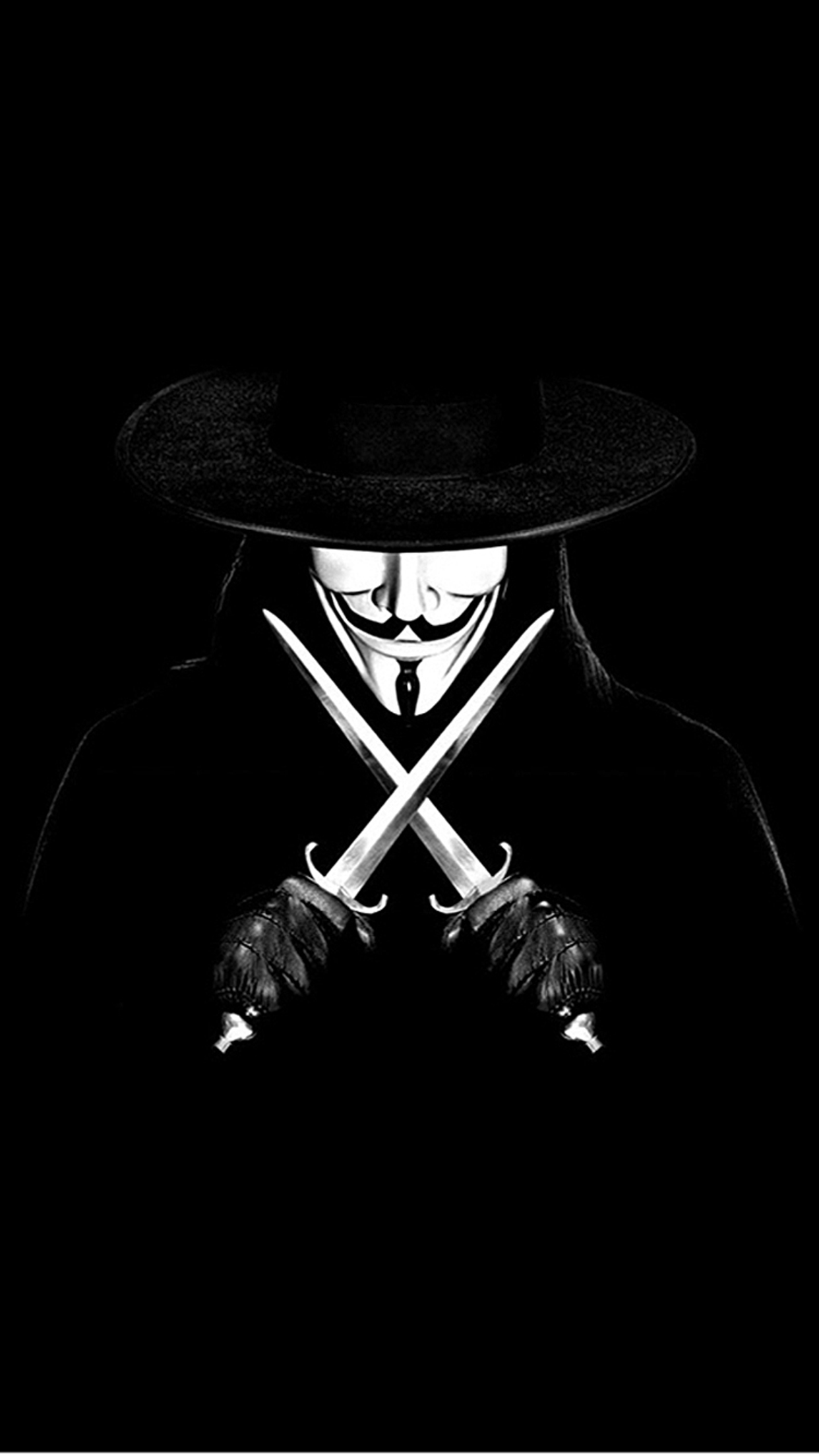 anonymous v for vendetta 3Wallpapers iPhone Parallax Anonymous V For Vendetta