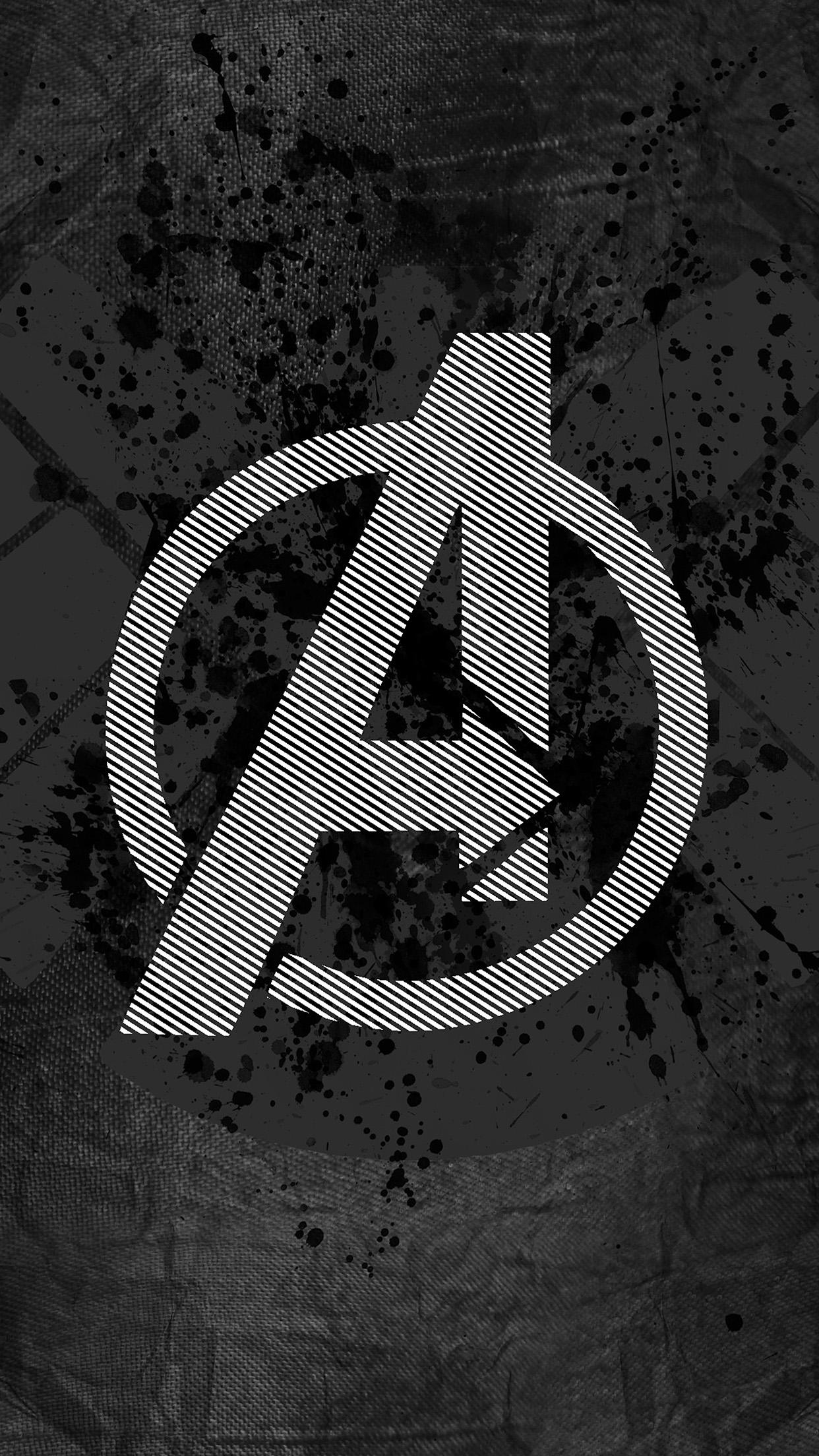 avengers a 3Wallpapers iPhone Parallax Avengers Logo