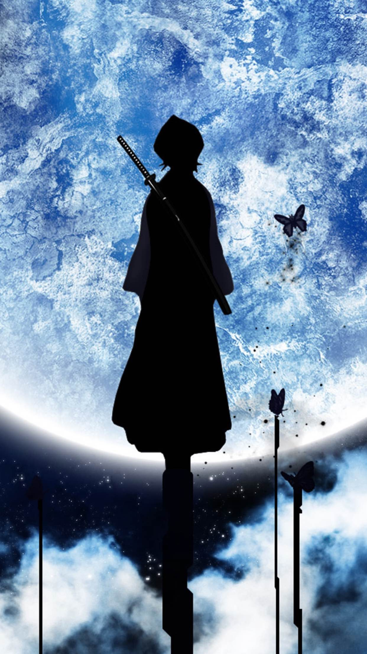 Bleach Rukia Wallpaper For Iphone X 8 7 6 Free On