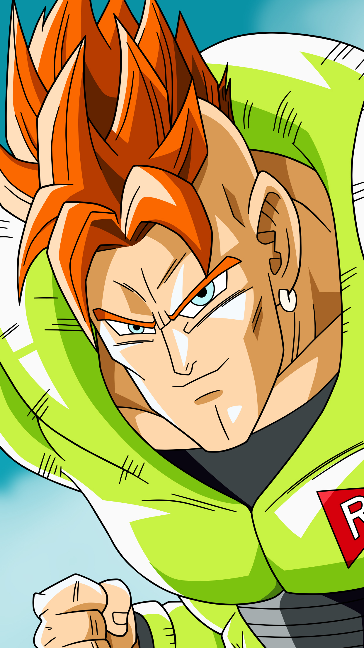 Dragon Ball C-16 Wallpaper for iPhone X, 8, 7, 6 - Free