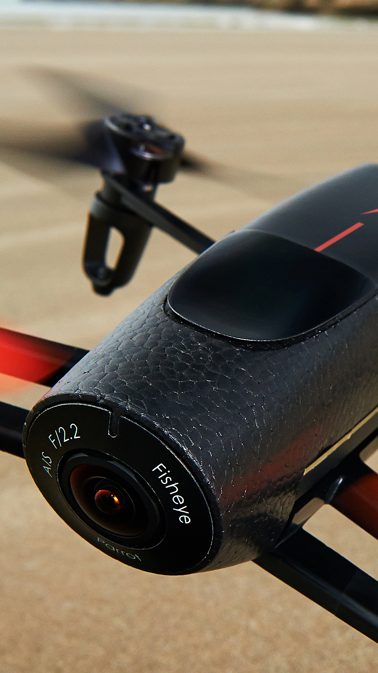drone camera 3Wallpapers iPhone Parallax Drone Camera