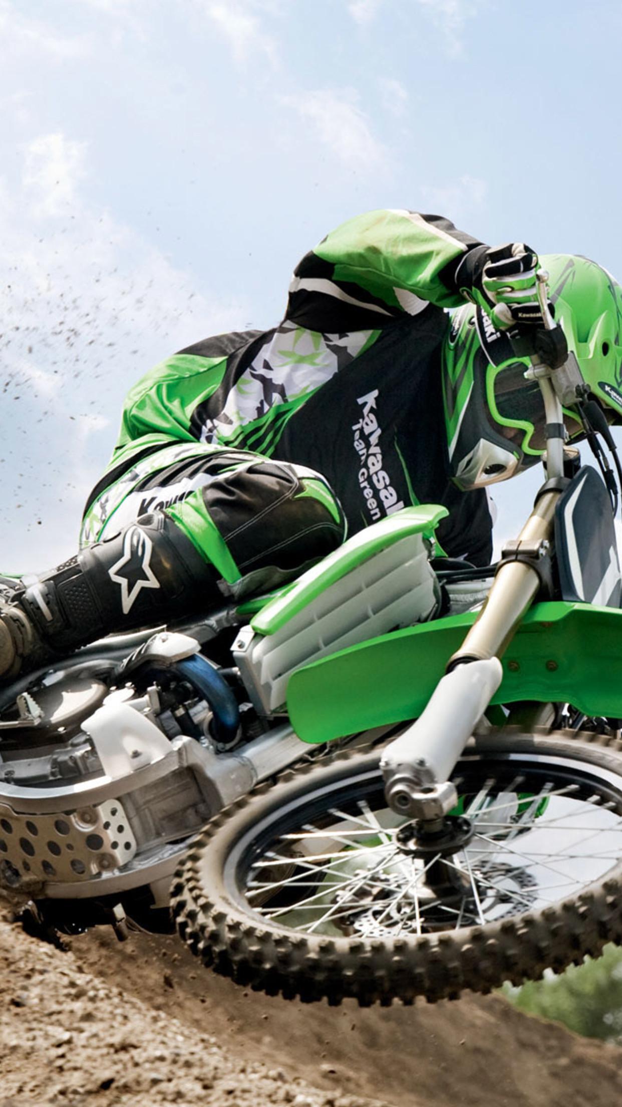 moto kawasaki 3Wallpapers iPhone Parallax Moto Kawasaki