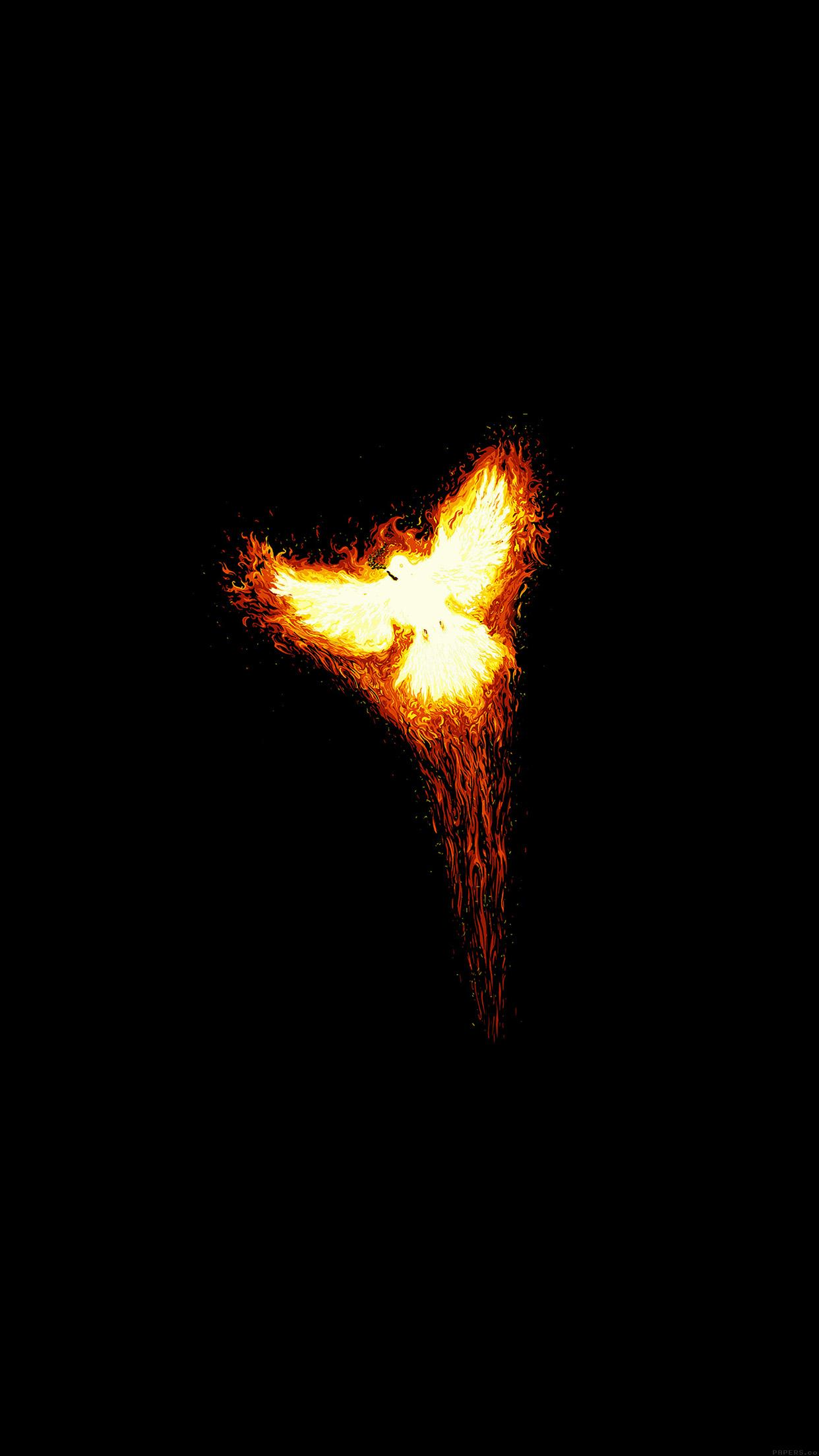 phoenix minimalist 3wallpapers iphone parallax phoenix minimalist