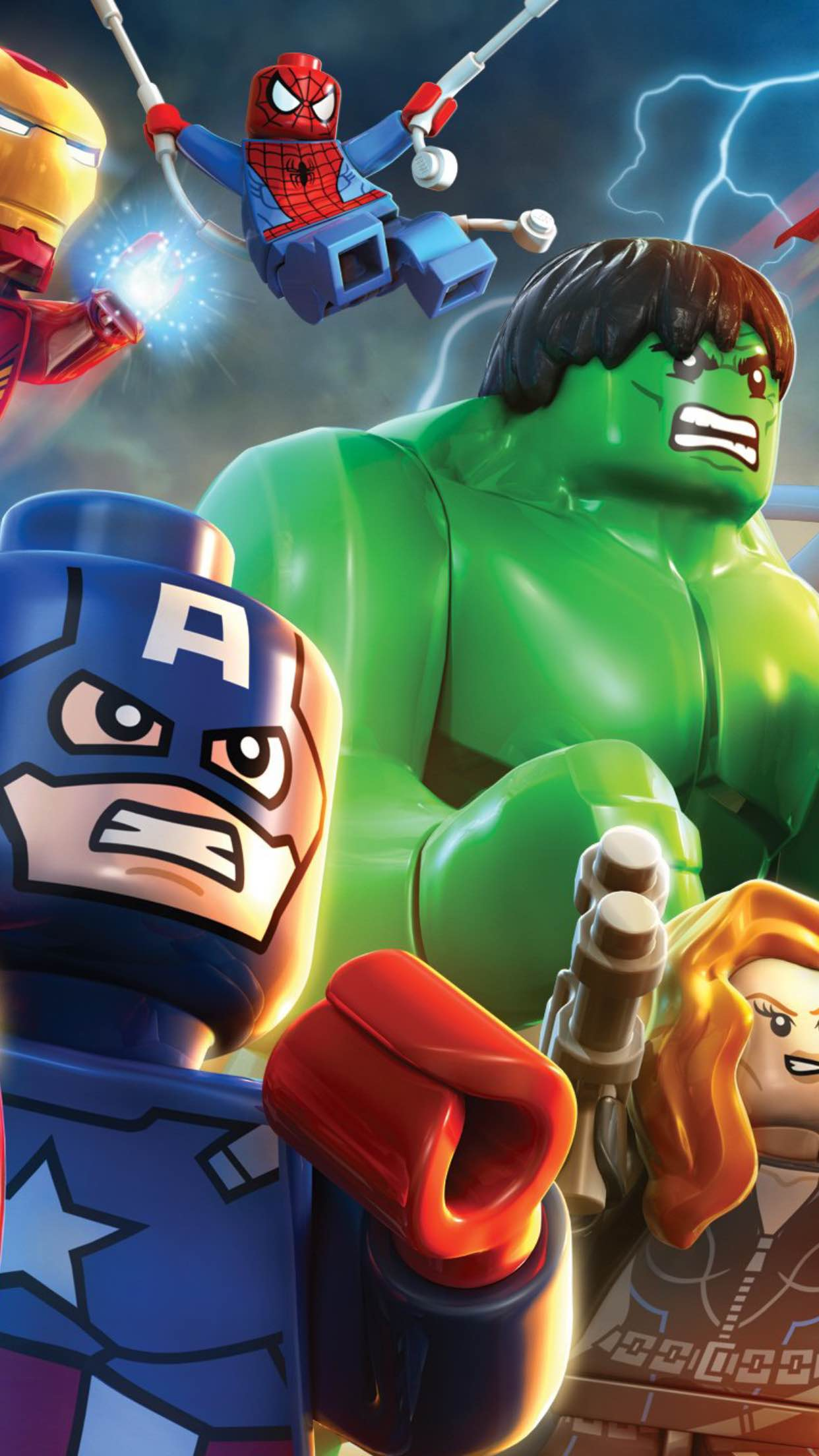 Lego Avengers Wallpaper For Iphone X 8 7 6 Free