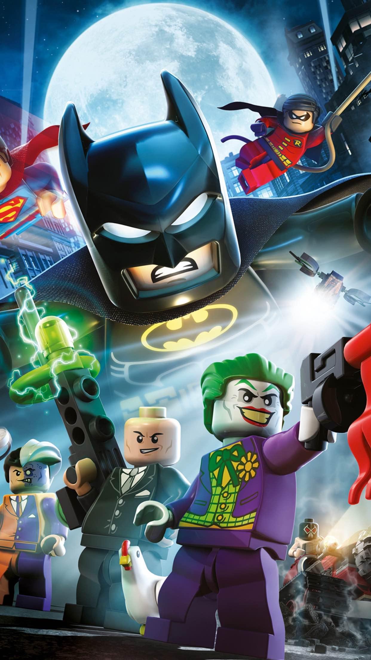 lego batman 3Wallpapers iPhone Parallax Lego Batman
