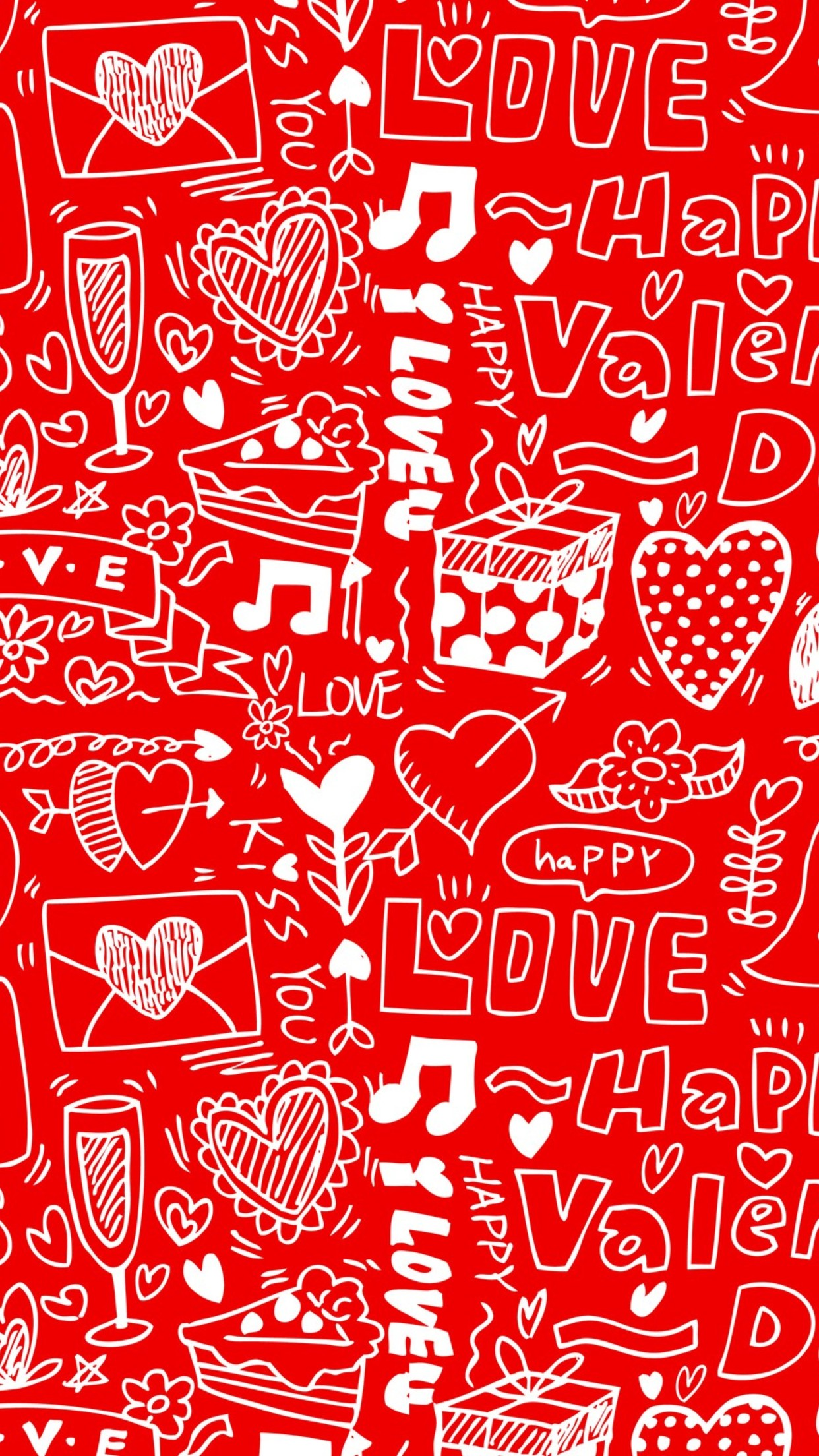 valentines day message 3Wallpapers iPhone Parallax Valentine Day Message