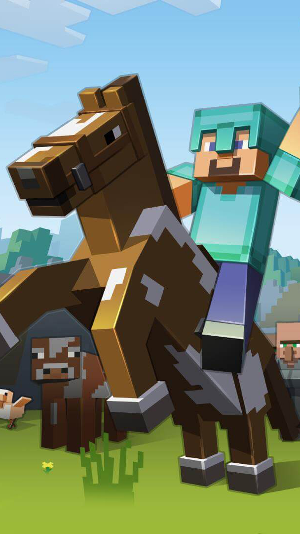 Minecraft 1 Wallpaper For Iphone X 8 7 6 Free