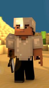 Minecraft 3 3Wallpapers iPhone Parallax 169x300 Minecraft (3)