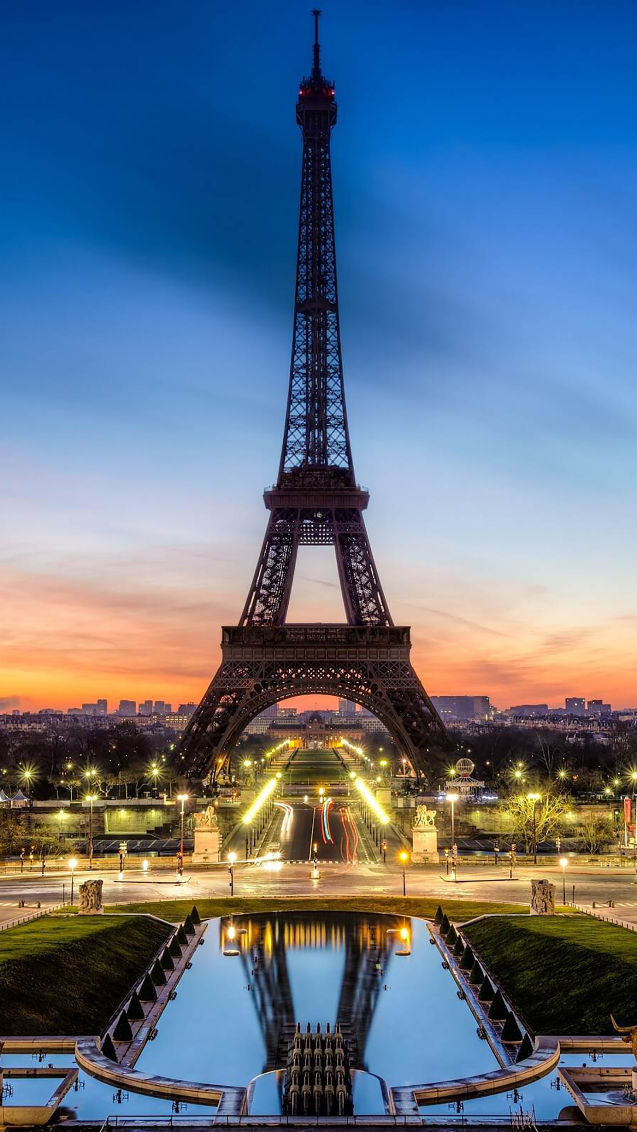 Monuments Eiffel Tower 3Wallpapers iPhone Parallax Monuments Eiffel Tower