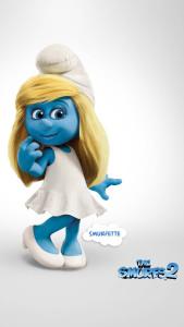 Smurfs Smurfette 3Wallpapers iPhone Parallax 169x300 Smurfette
