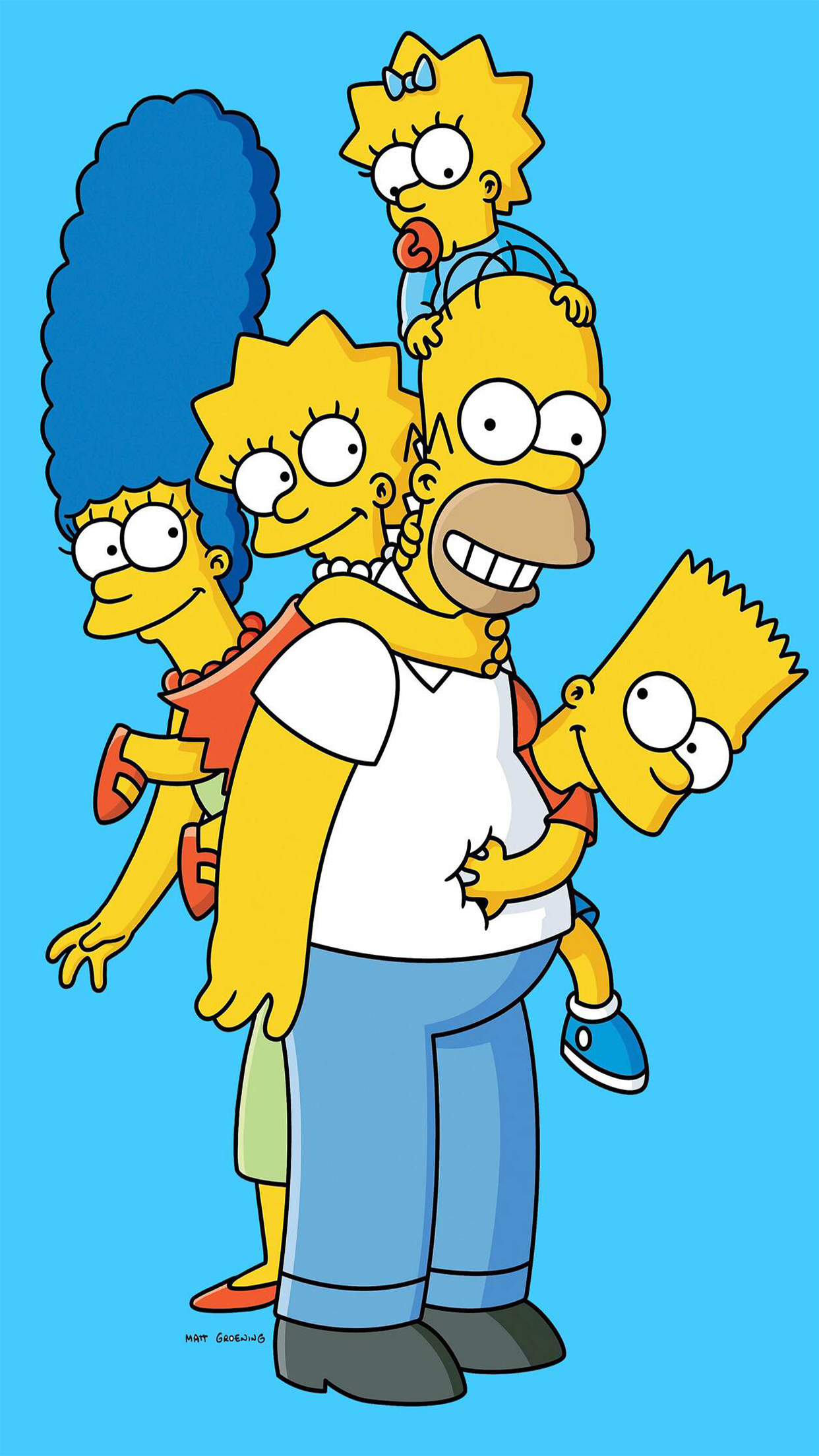 the simpsons the family and its New episodes air sundays at 8/7c watch full episodes of the simpsons at foxcom now the simpsons follows the titular family -- homer, marge, bart, lisa, and maggie -- living life in the fictional town of springfield and irreverently poking fun at anything and everything.