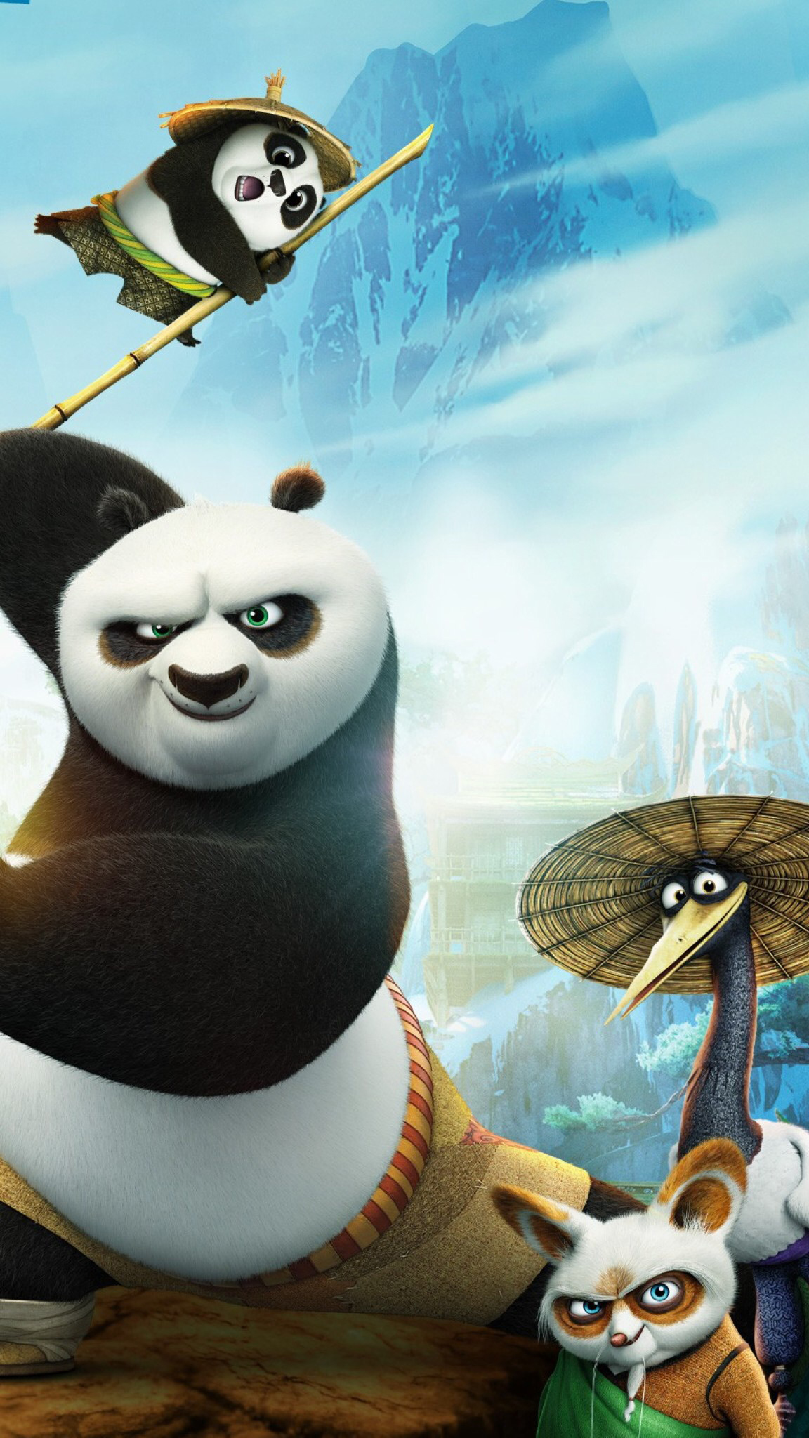 Kung Fu Panda Kung Fu Panda 3 3Wallpapers iPhone Parallax1 Kung Fu Panda (3)