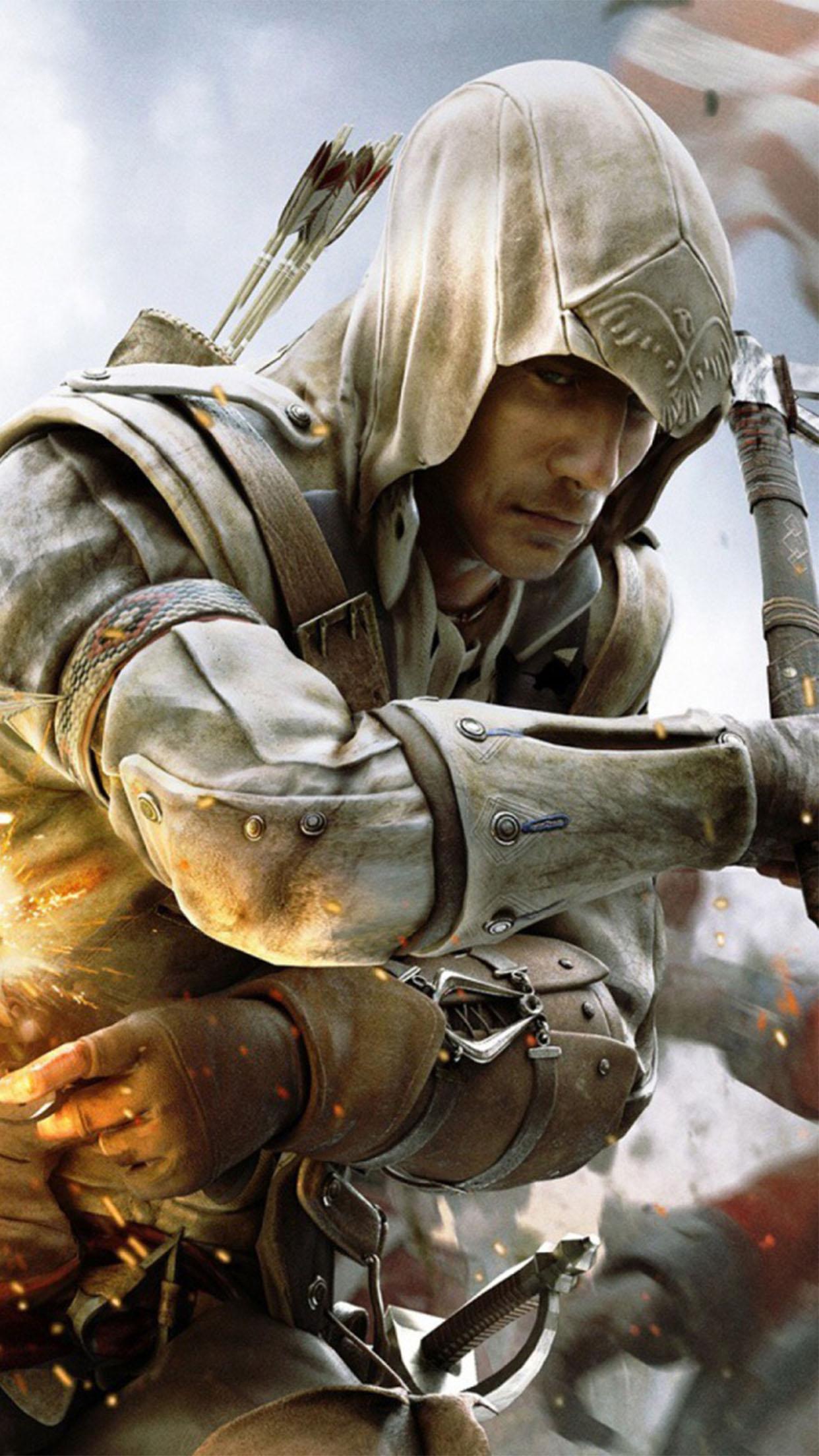 Assasins Creed Assassins Creed 3 3Wallpapers iPhone Parallax Assassins Creed 3