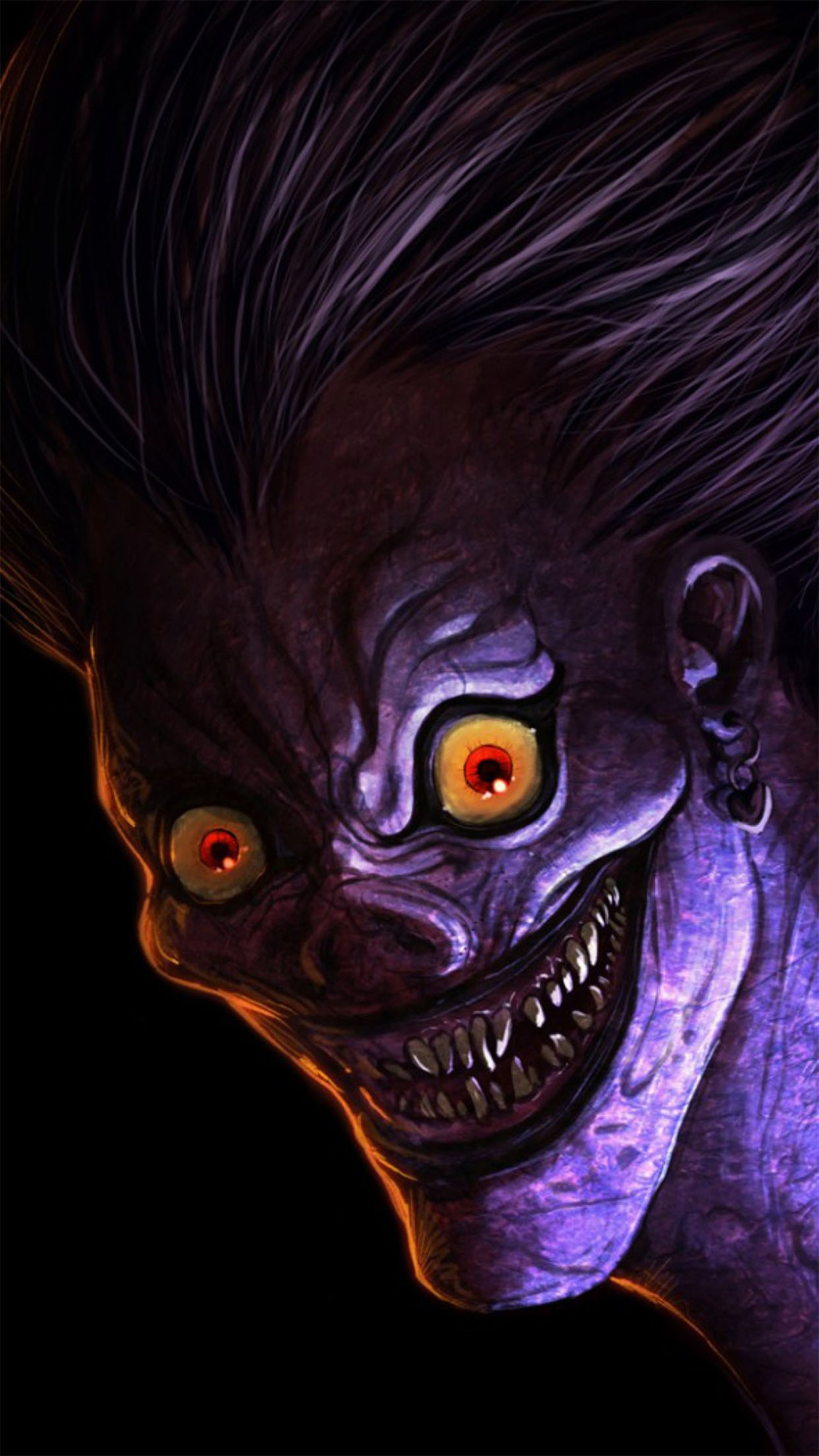 Ryuk Wallpaper For Iphone X 8 7 6 Free Download On