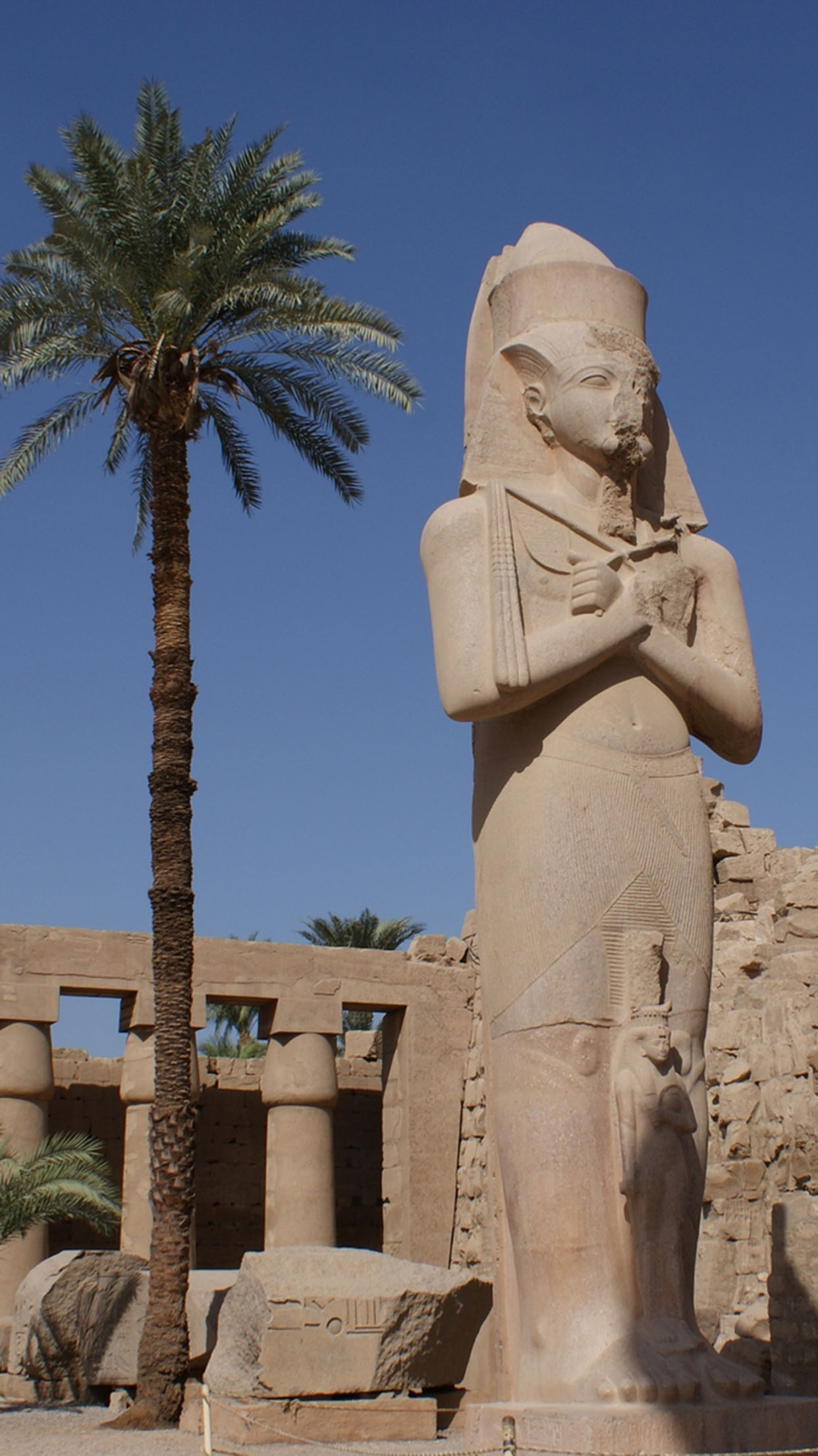 Egypte Louxor Monument 3Wallpapers iPhone Parallax Egypte Louxor Monument
