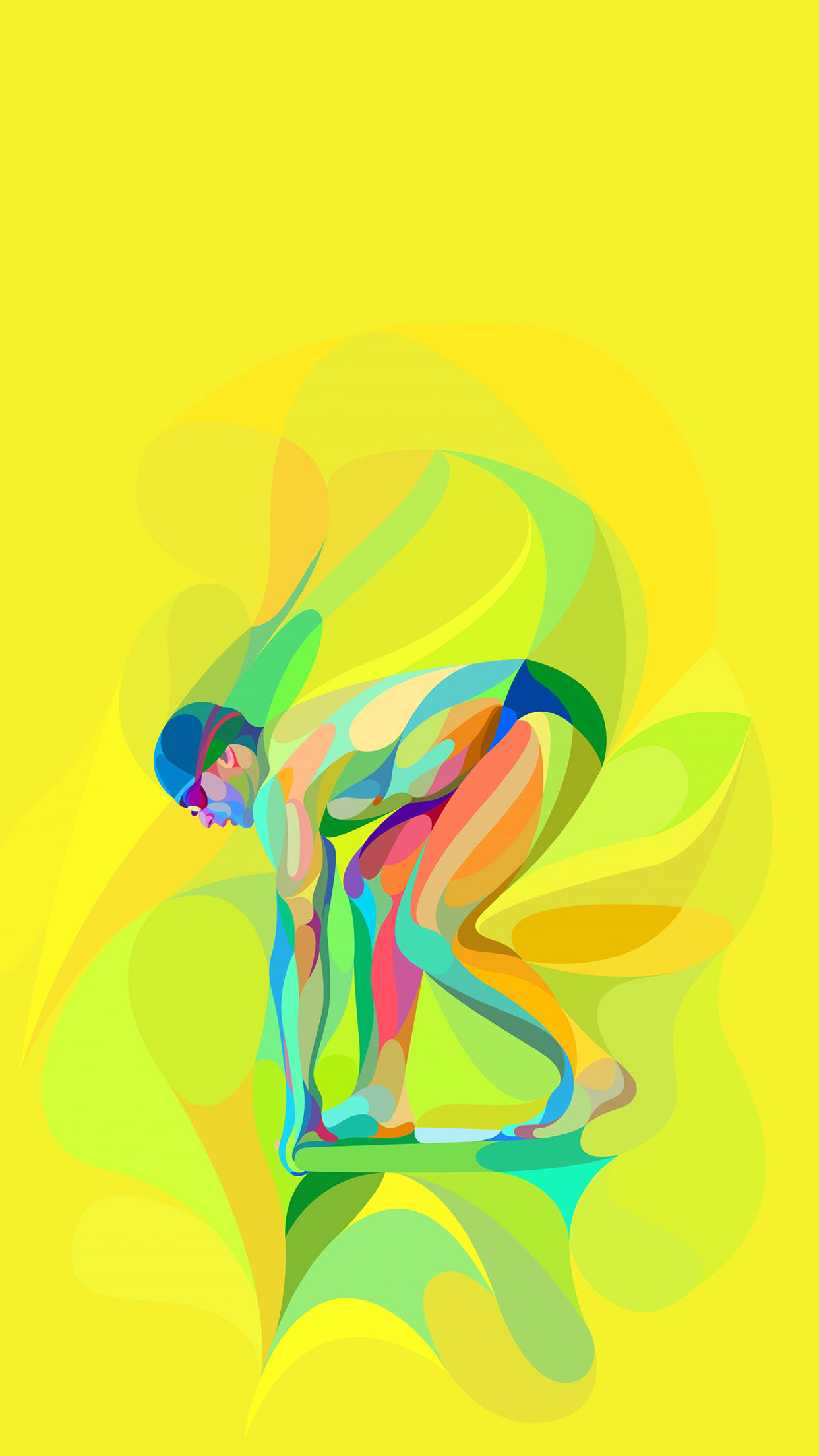 JO RIO 2016 OLYMPICS SWIMMING 3Wallpapers iPhone Parallax JO RIO 2016 Olympics Swimming