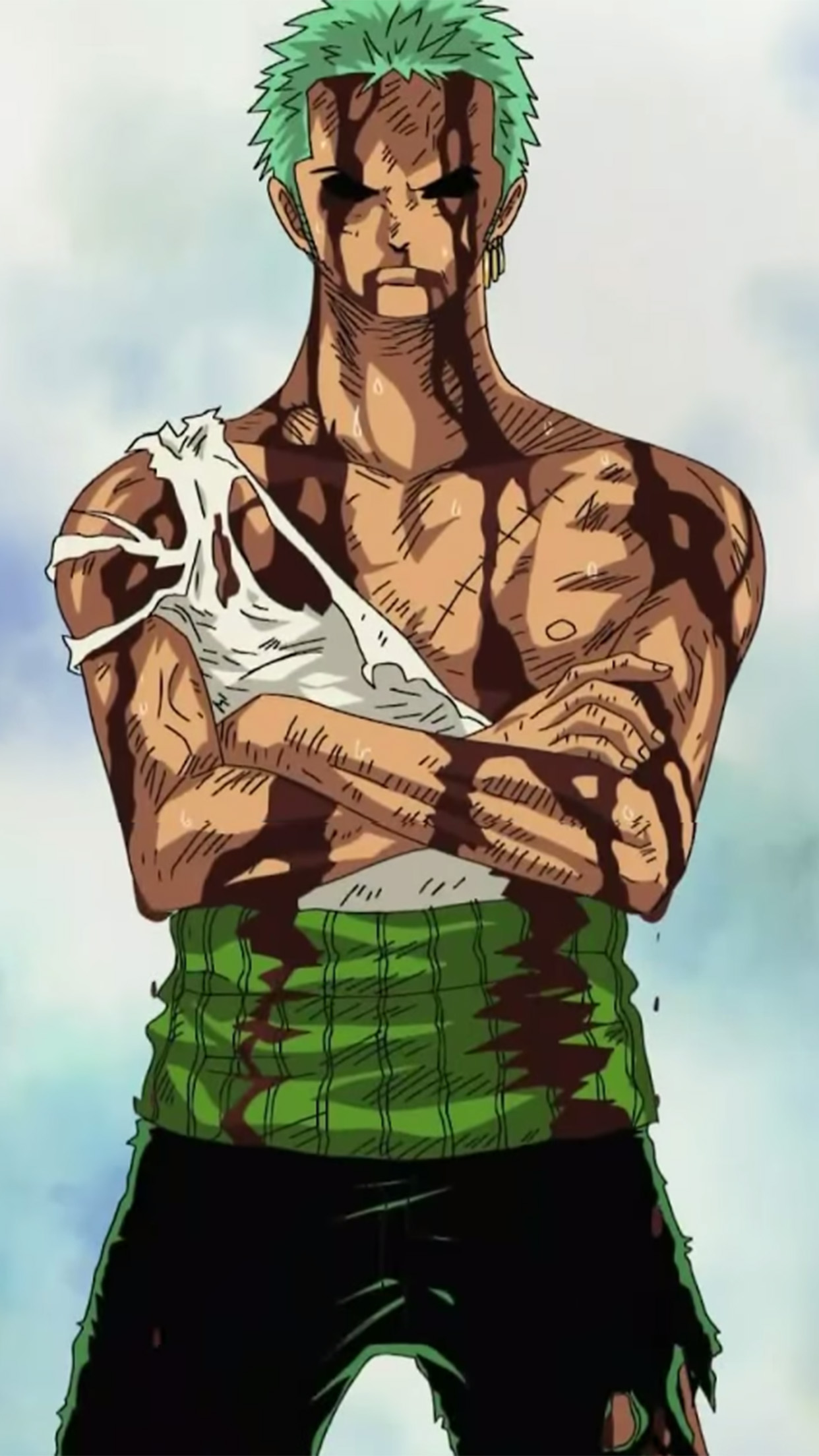 One Piece Roronoa Zoro 3Wallpapers iPhone Parallax Roronoa Zoro