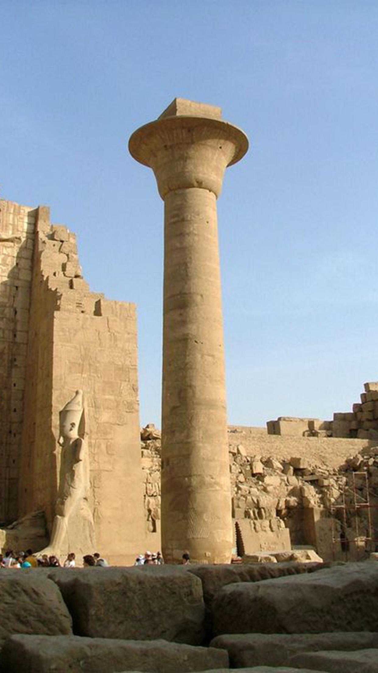 Pharaon Taharqa Colon 3Wallpapers iPhone Parallax Pharaon Taharqa Colon