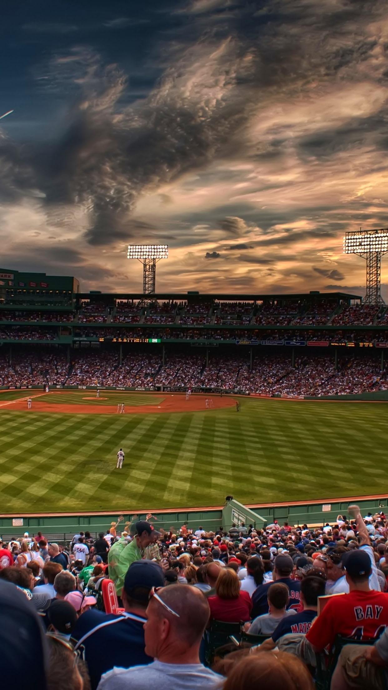 Baseball Baseball stadium 3Wallpapers iPhone Parallax Baseball stadium