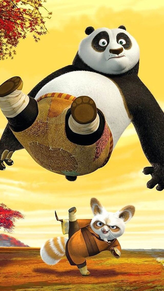 Kung Fu Panda Shifu Fight 3Wallpapers iPhone Parallax Shifu Fight