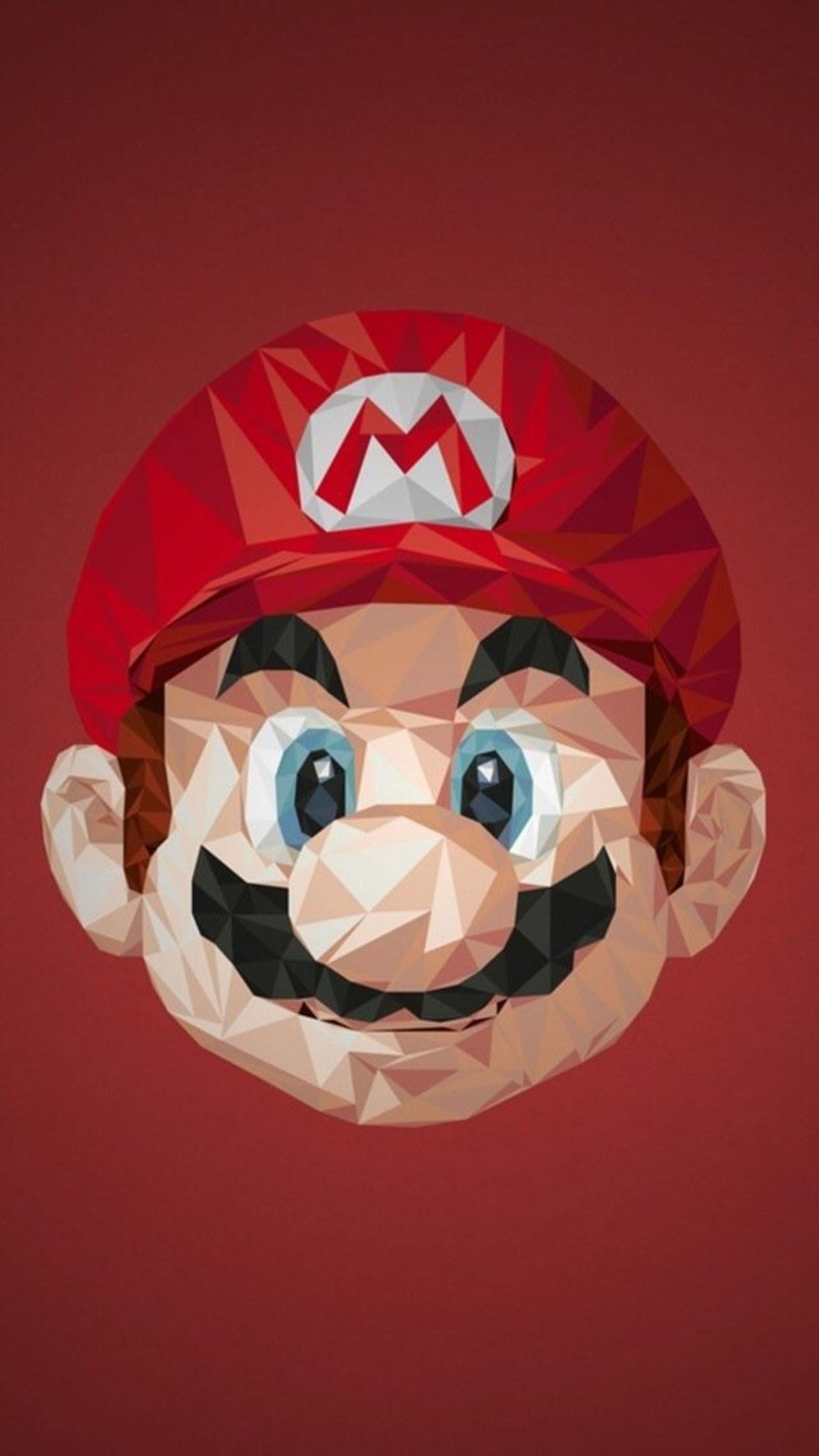 Mario Mario 1 3Wallpapers iPhone Parallax Mario 1